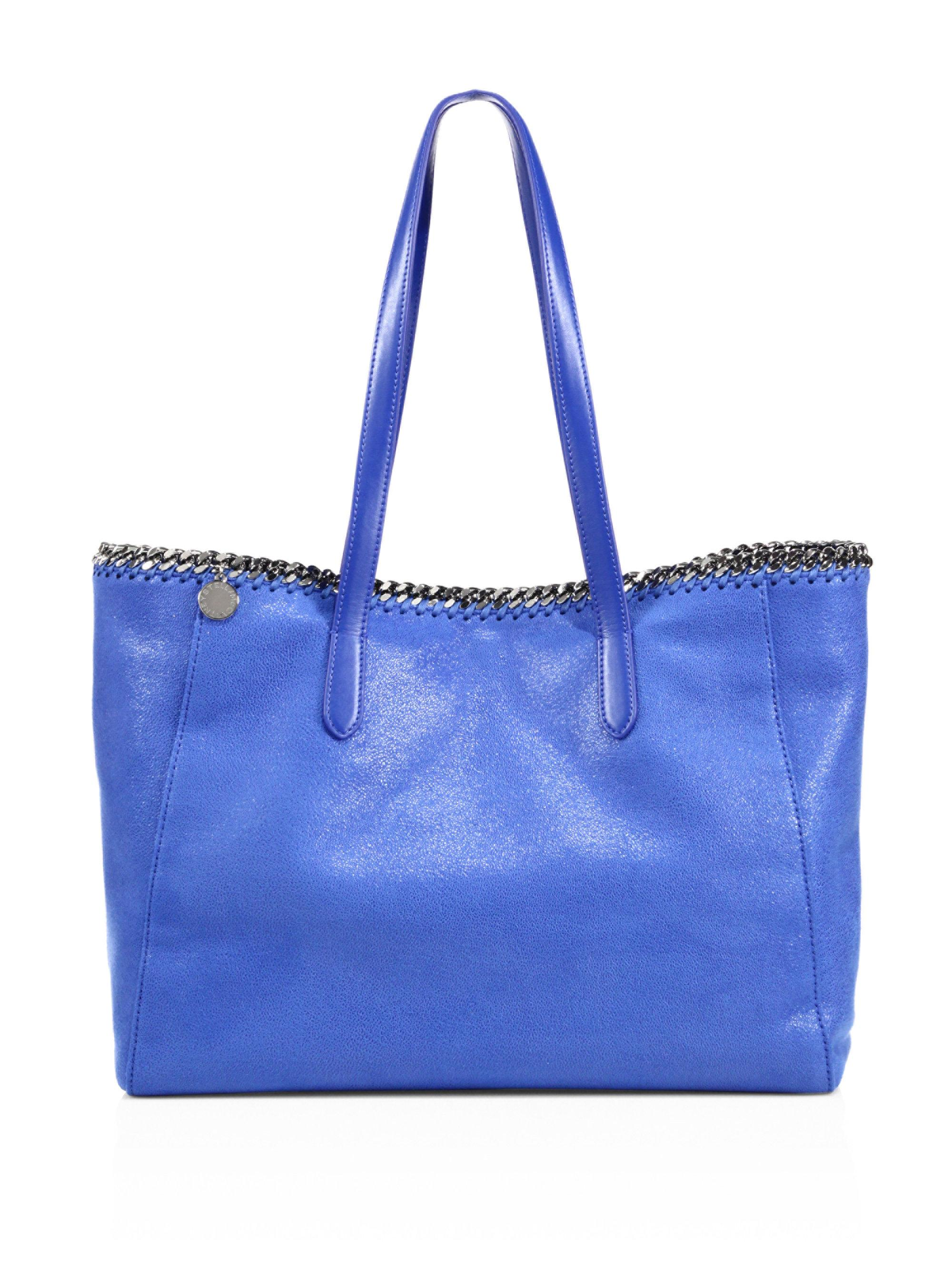 7c58cff11d Stella Mccartney Falabella Small Faux Leather East-west Tote