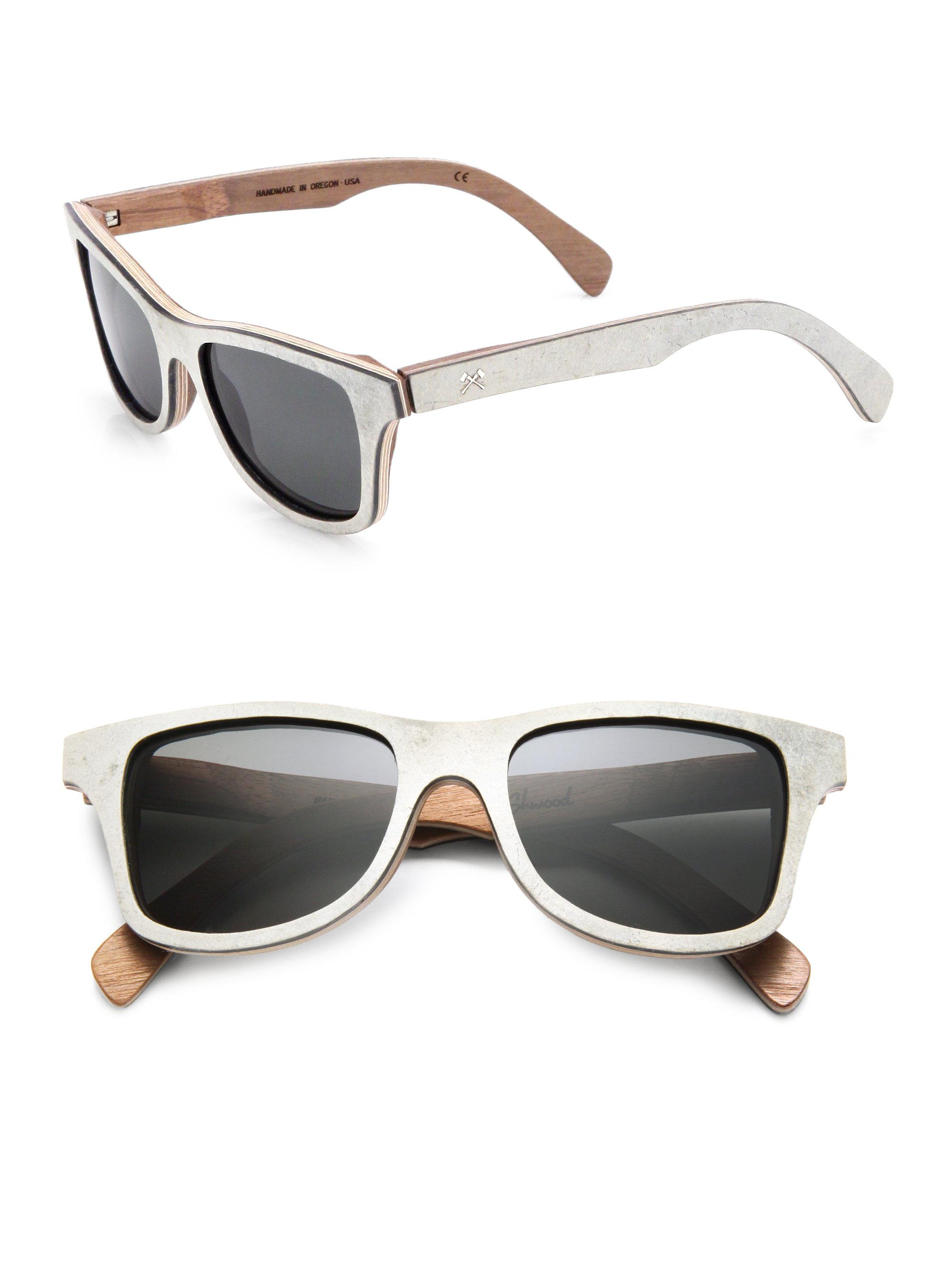 3bdf7ac2f2 Shwood. Men s White Canby Acetate