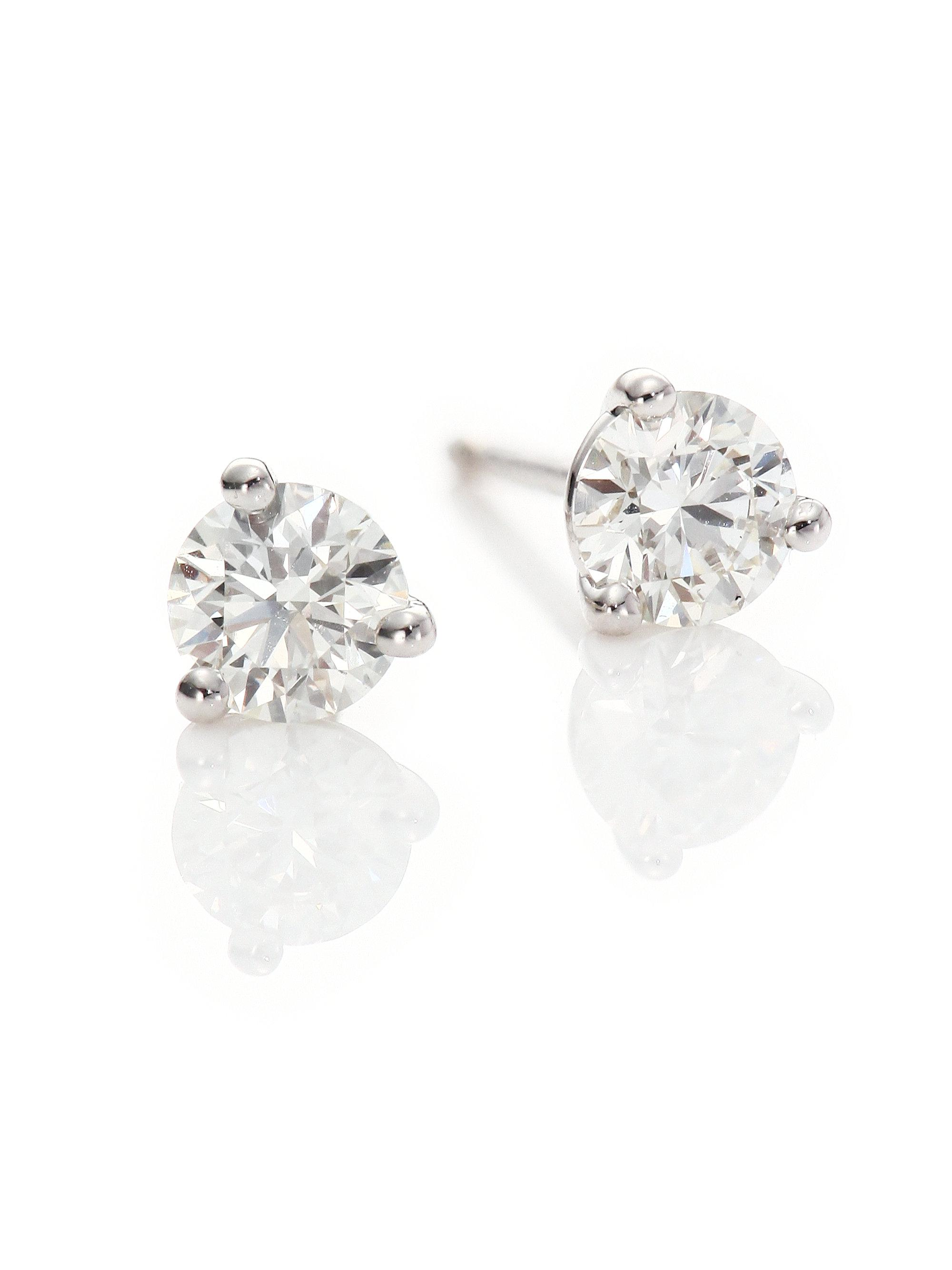 alibaba and suppliers carat bling showroom diamonds earrings com carats moissanite def at manufacturers