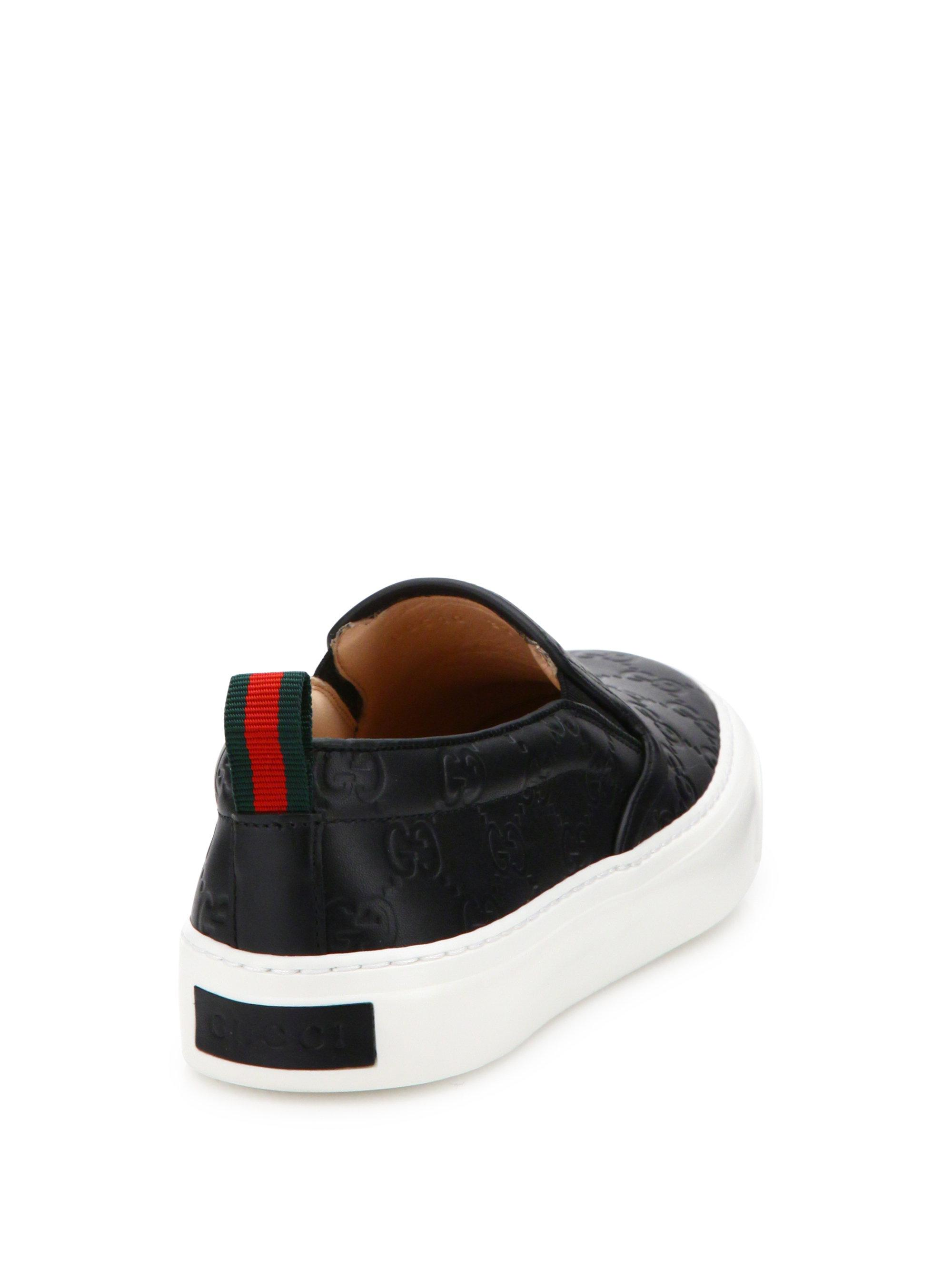 Gucci Board GG Leather Skate Sneakers NiUL0HMo