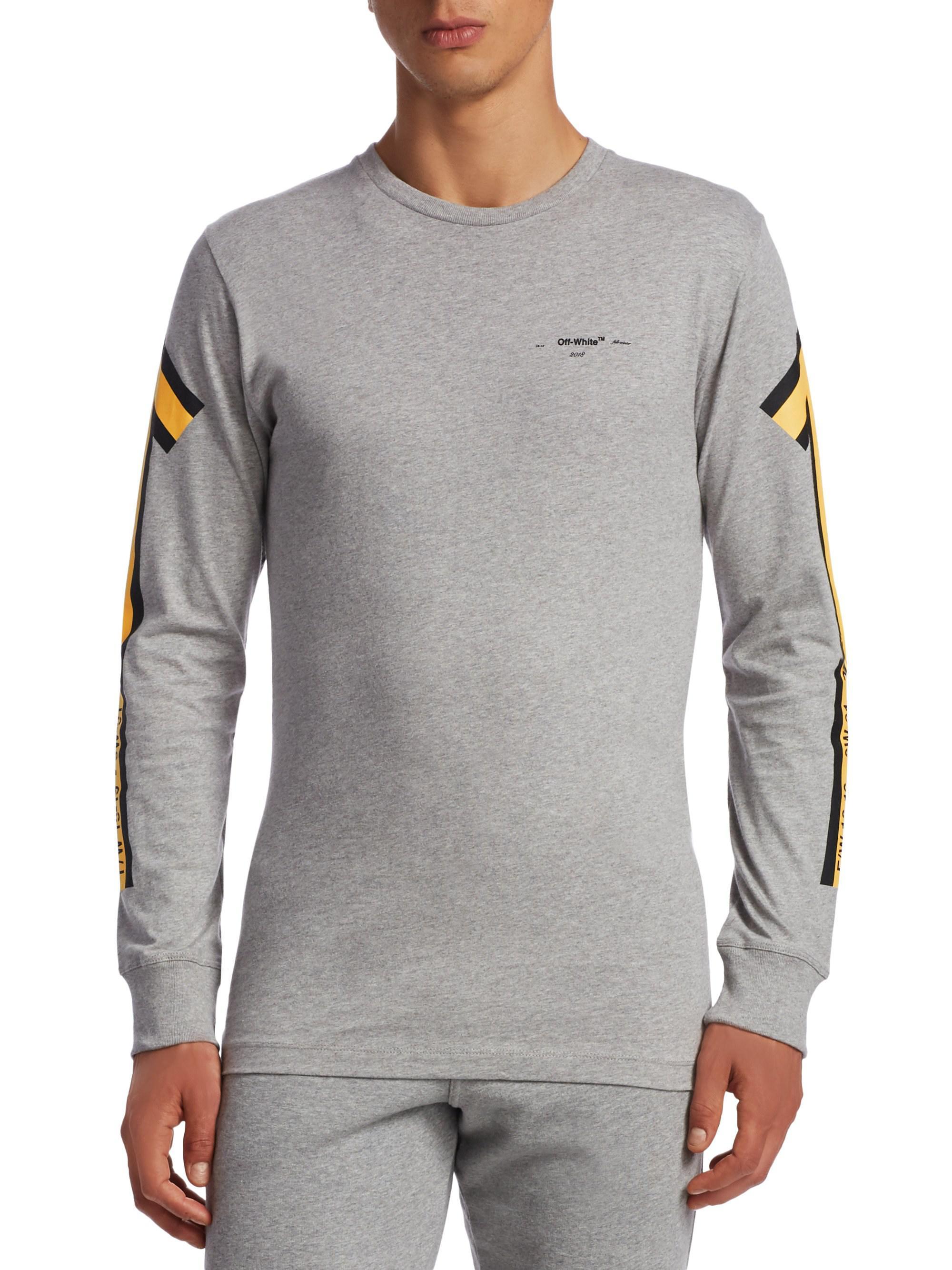 d9848ac621 Off White Arrows Long Sleeve T Shirt - raveitsafe