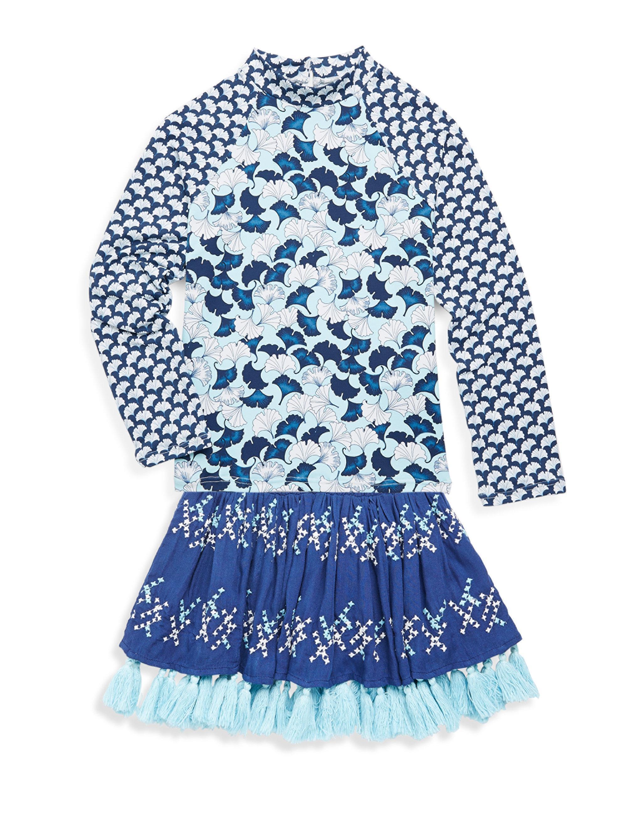 76c0433bde OndadeMar Little Girl's & Girl's Lotto Skirt in Blue - Lyst