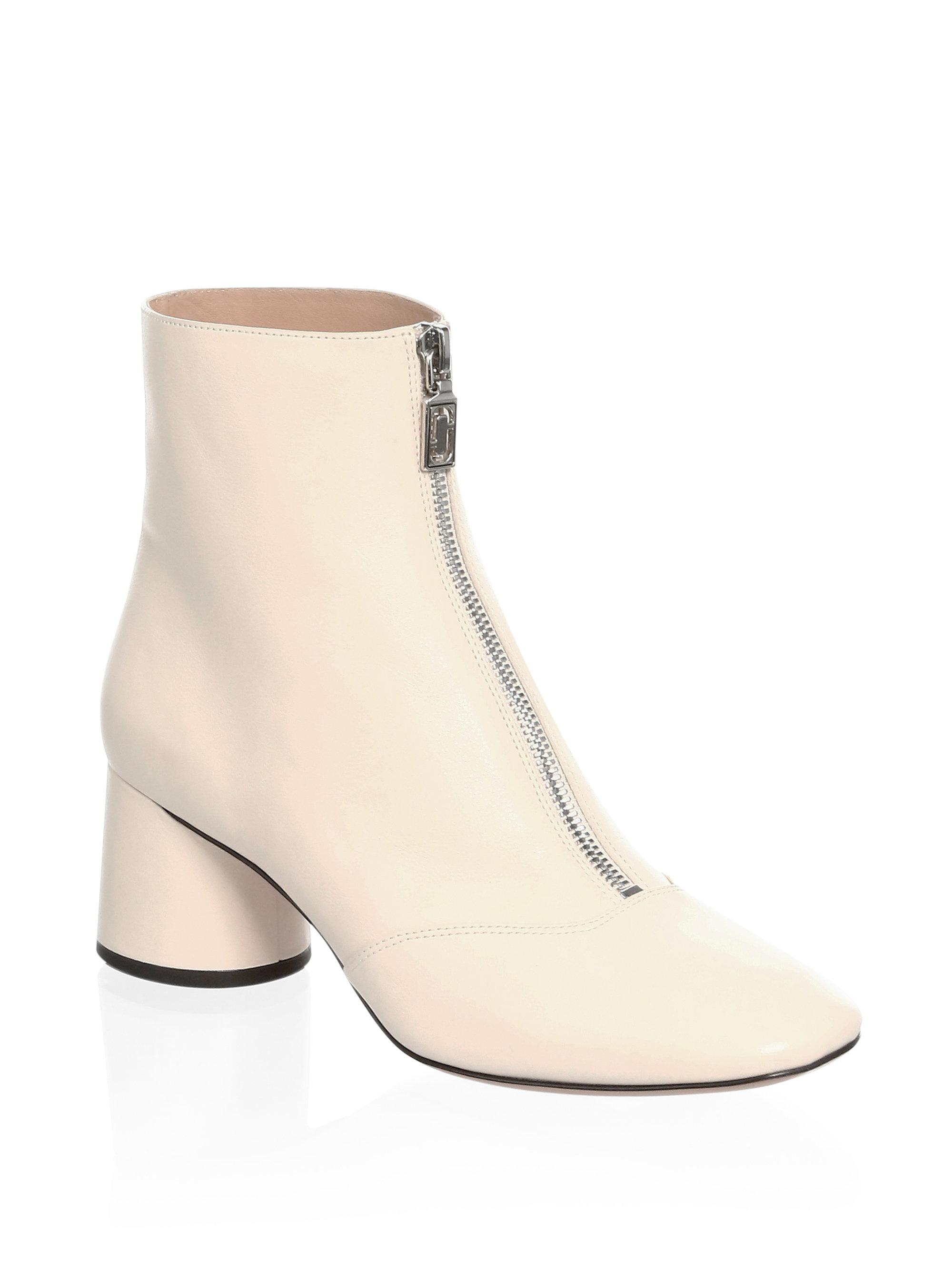 Marc Jacobs Natalie Front Zip Ankle Boots yf5Xkrth