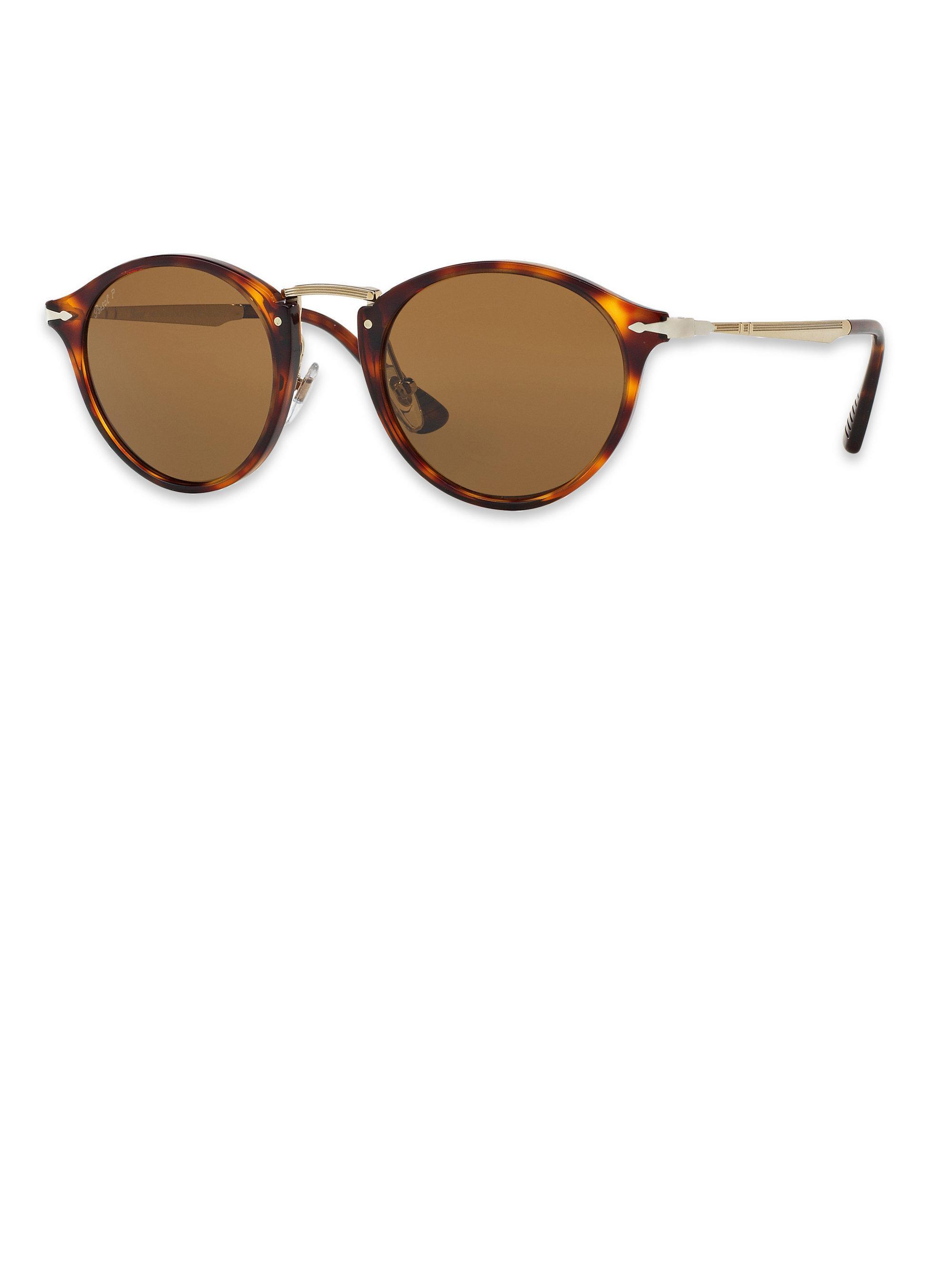 701c419d6c5f Brown Polarized Sunglasses In Calligrapher 51mm Persol Phantos Lyst wT0qtB