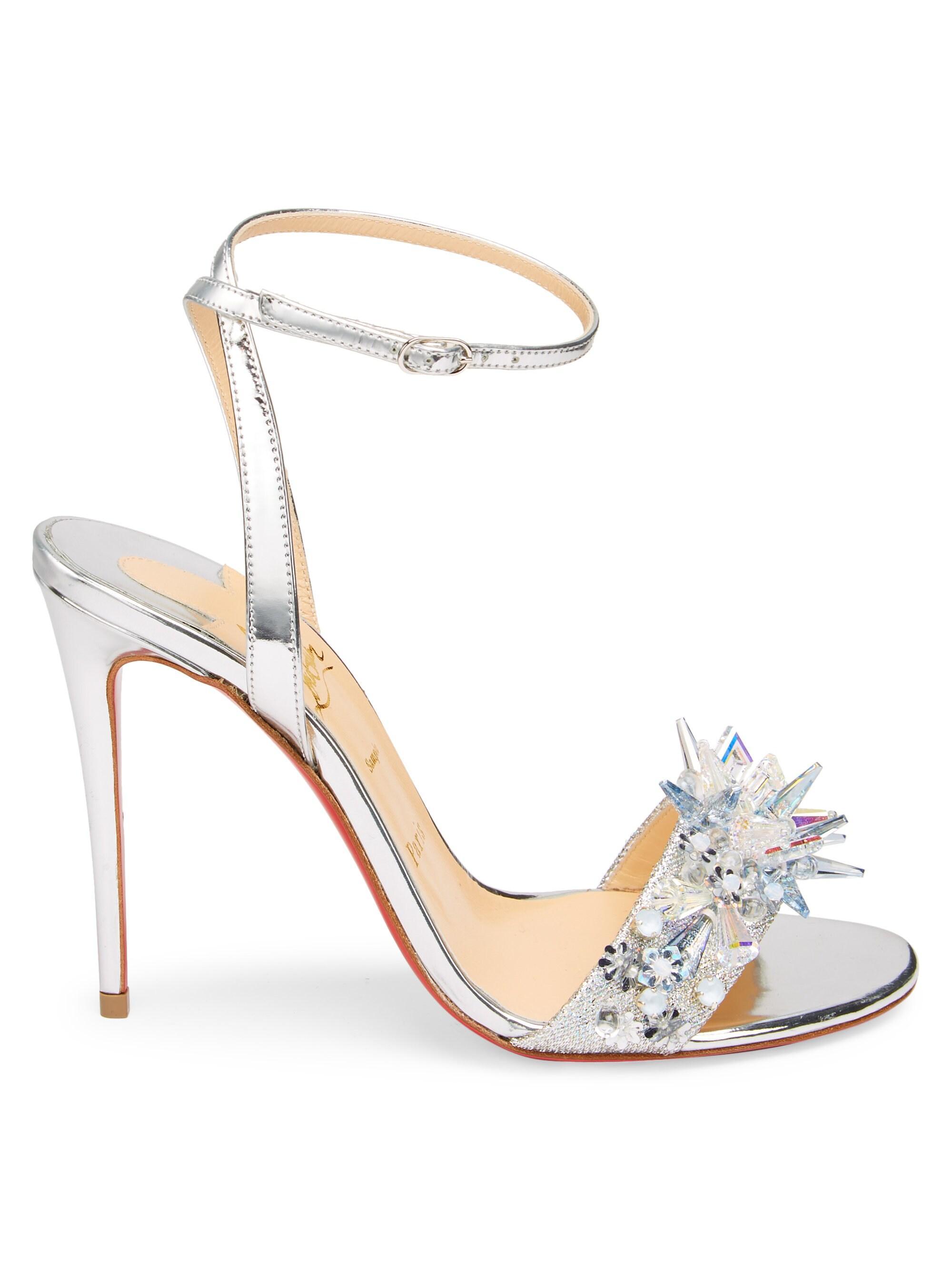 929ff5fdad5 Women's Okydok Lurex Metallic Leather Sandals