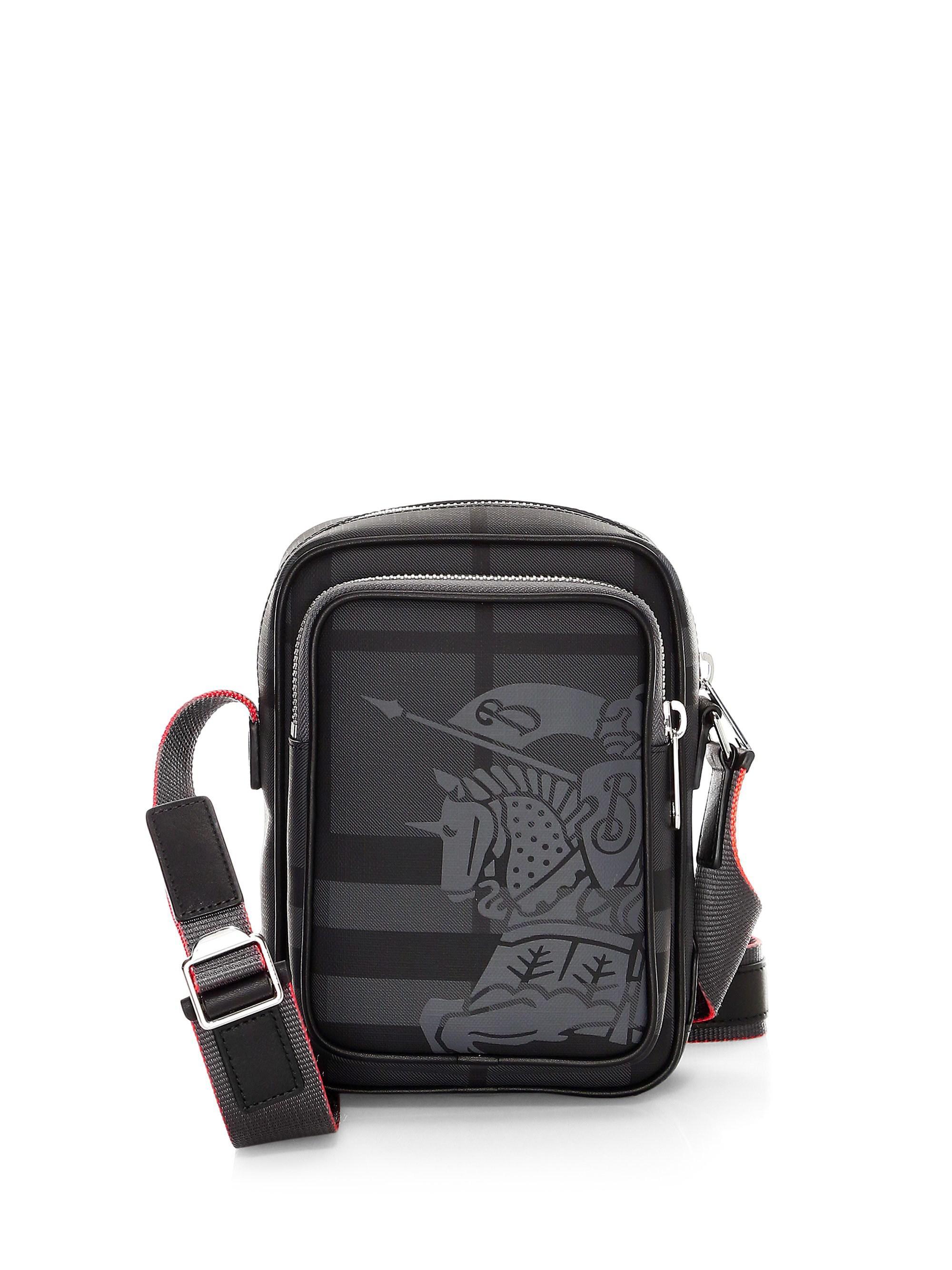 13ed34c8e33a Lyst - Burberry Freddie Crossbody Bag in Black for Men