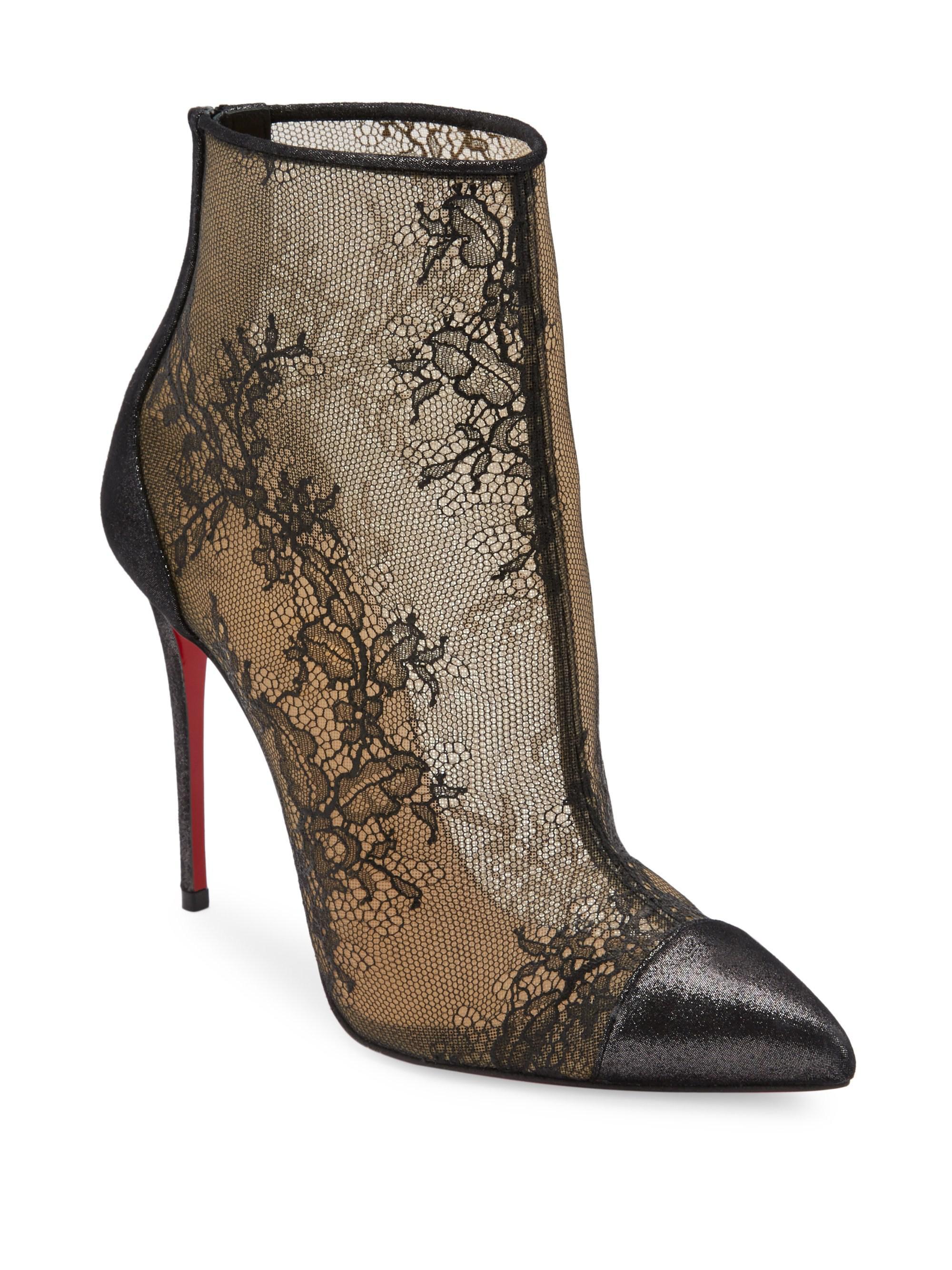 e30ea2a6561 coupon for christian louboutin js shoe boots rubber 9e743 4c11a