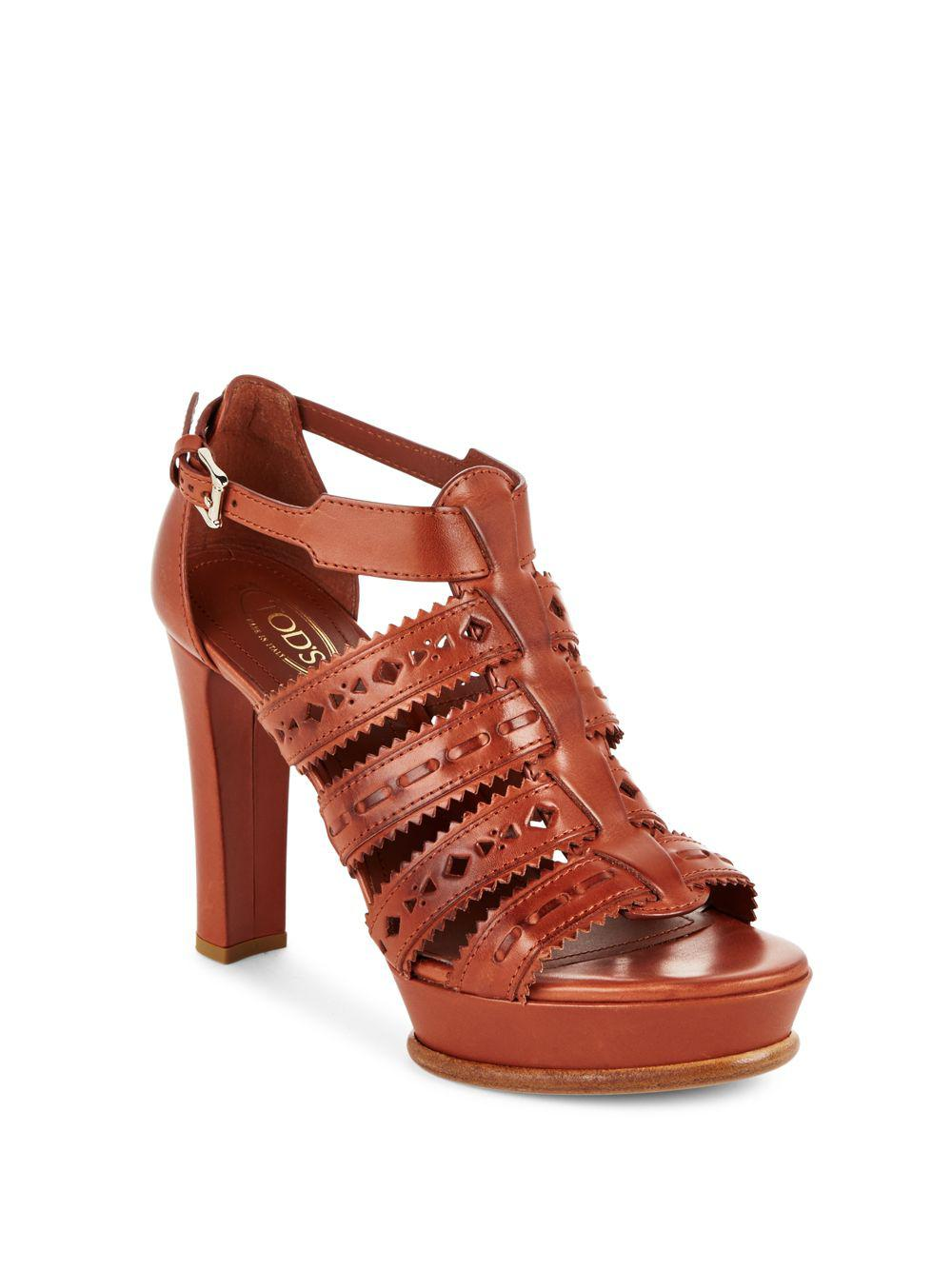 Aperlai Laser Cut Platform Sandals sale view factory outlet sale online new styles sale online 3IZSoGKN
