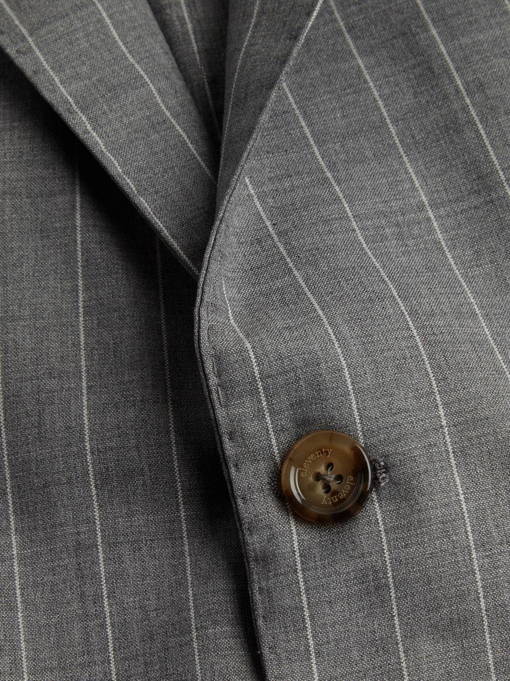 Eleventy Wool Pinstripe Suit Set in Light Grey (Grey) for Men