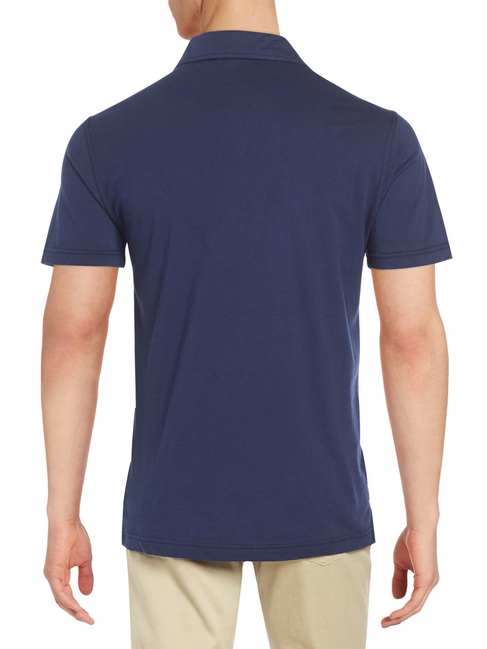 Slate And Stone Clothing : Slate stone oliver jersey polo in blue for men lyst