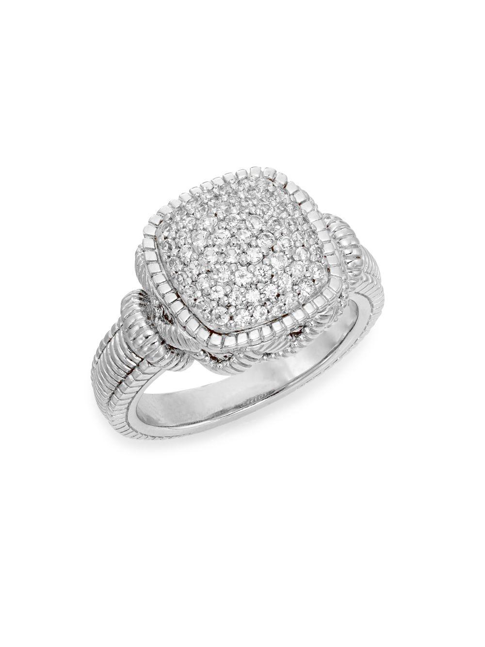 MyriamSOS Square Eternity Ring 3 - K 1/2 u9PCC1Smfp