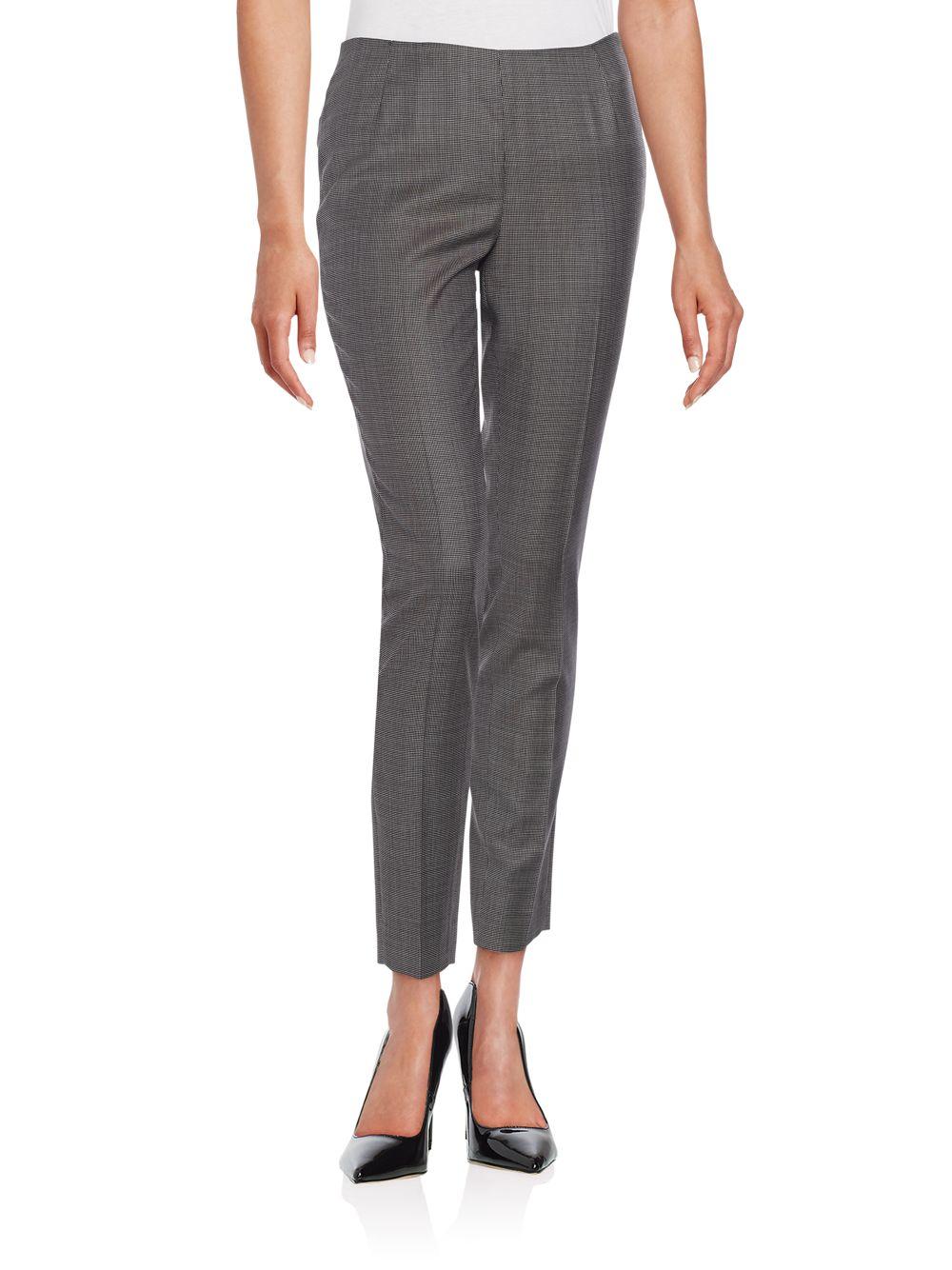Lafayette 148 new york Full-length Stanton Pants in Gray ...