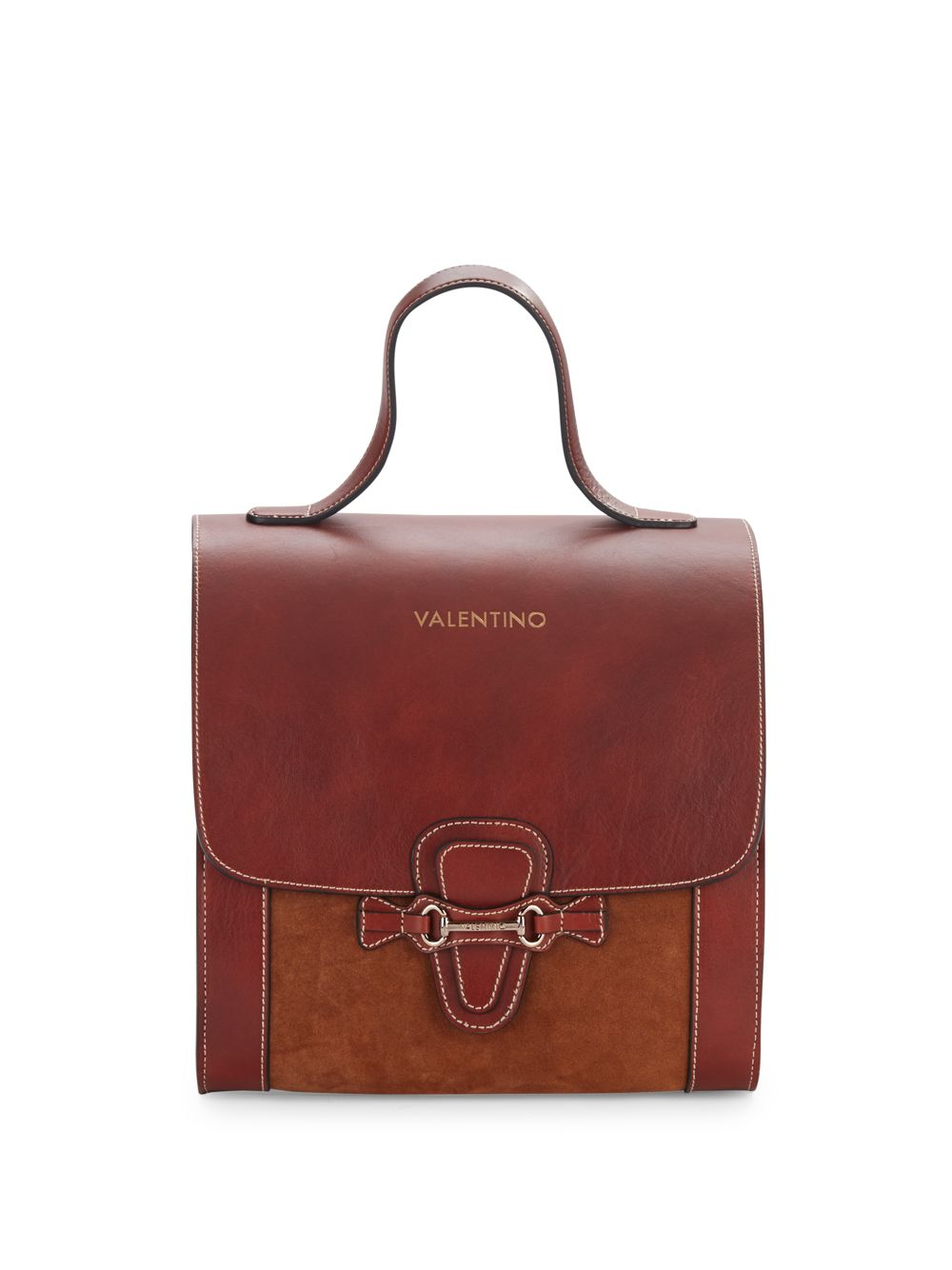 valentino by mario valentino amy top handle leather bag in. Black Bedroom Furniture Sets. Home Design Ideas