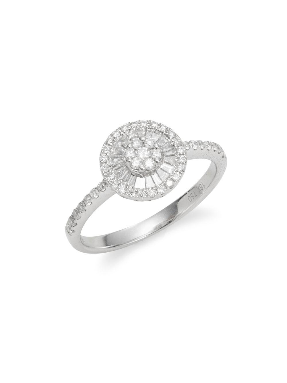 Effy Pave Diamond Halo Ring
