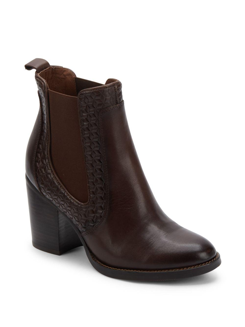 liebeskind round toe chelsea boots in brown lyst. Black Bedroom Furniture Sets. Home Design Ideas