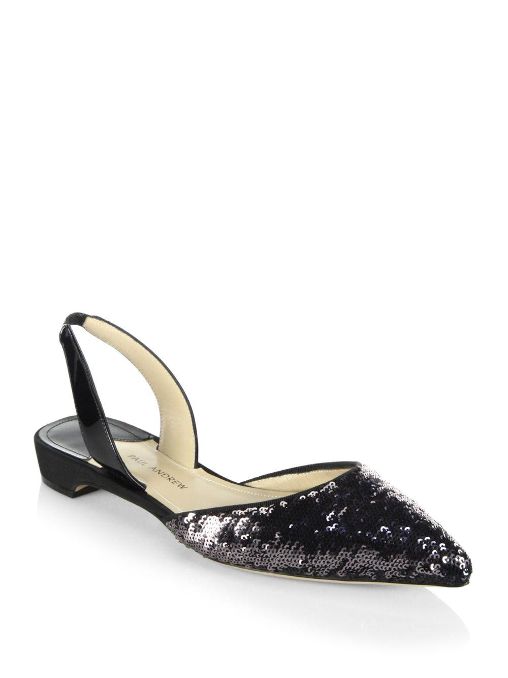 free shipping for sale Paul Andrew Sequined Slide Sandals free shipping ebay latest collections sale online 100% guaranteed for sale for sale wholesale price mcejUdNI
