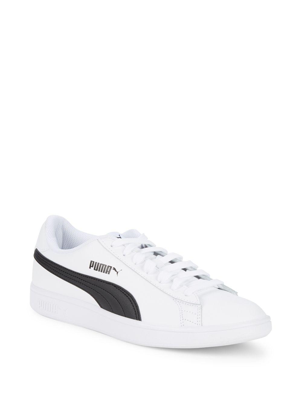 81ee7d65d150e2 PUMA Smash V2 L Low-top Runners in White - Lyst