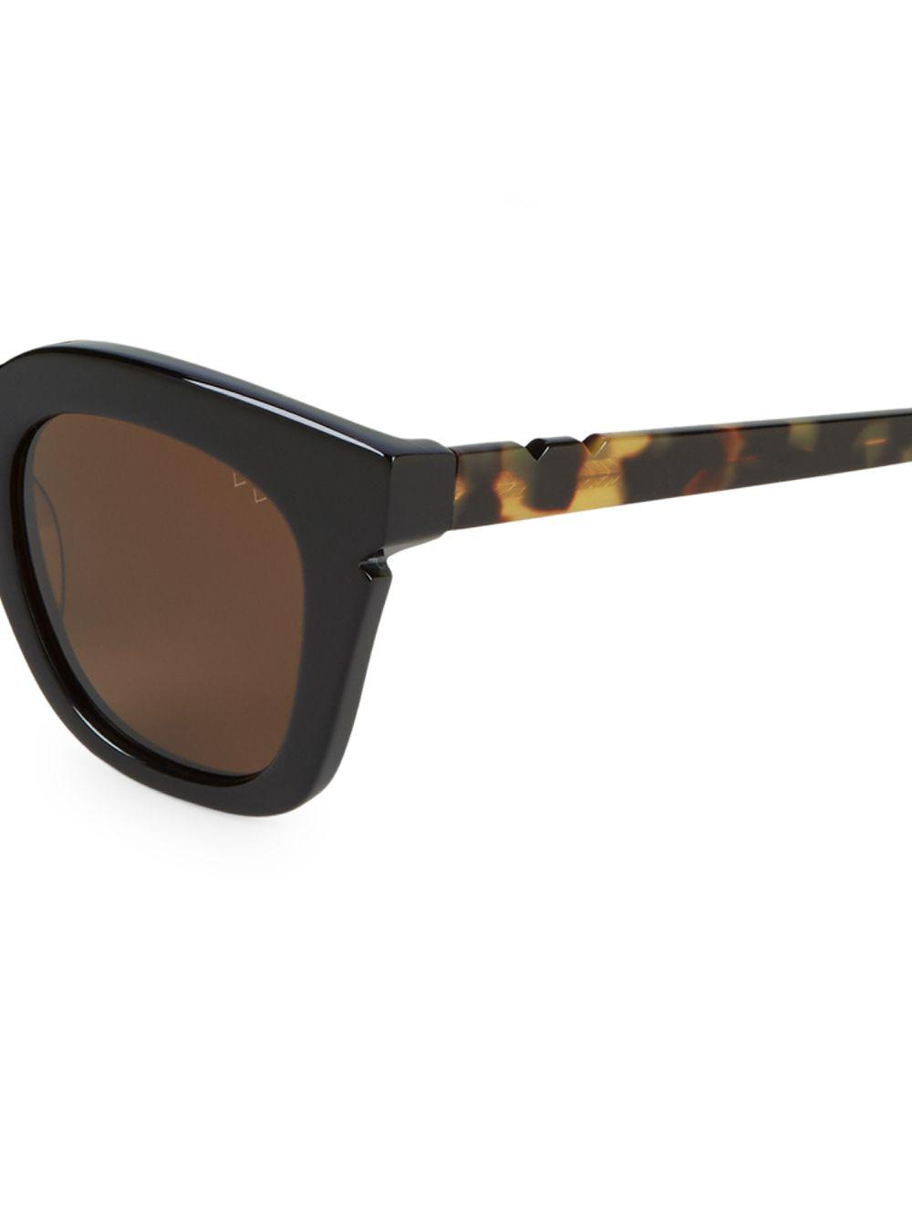 29f837d9ca Pared Eyewear - Black Classic 44mm Butterfly Sunglasses - Lyst. View  fullscreen