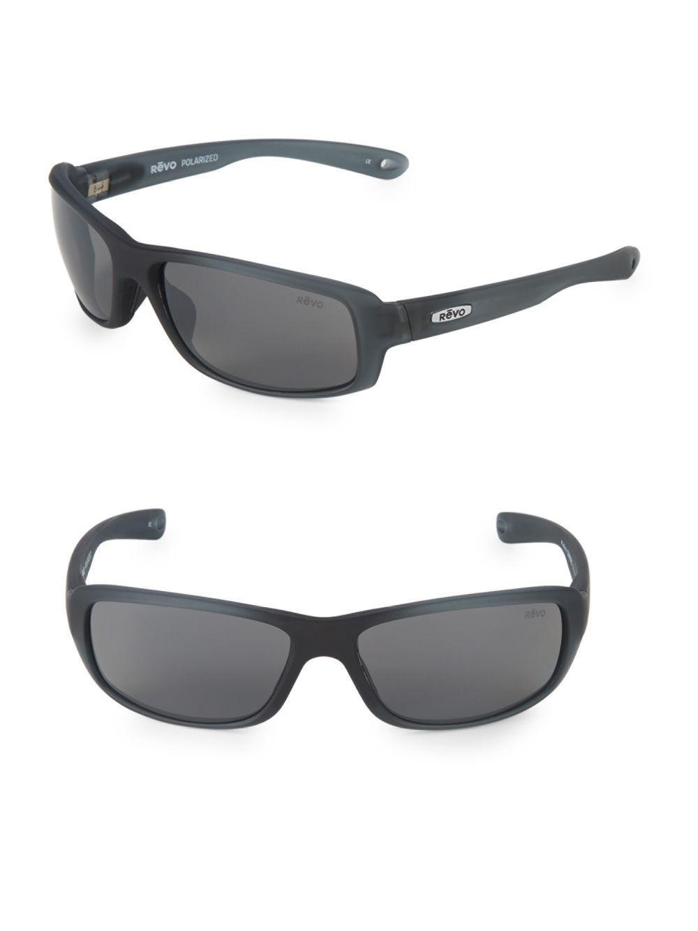 f3ba7d498f Revo - Gray Converge 62mm Rectangular Sunglasses - Lyst. View fullscreen