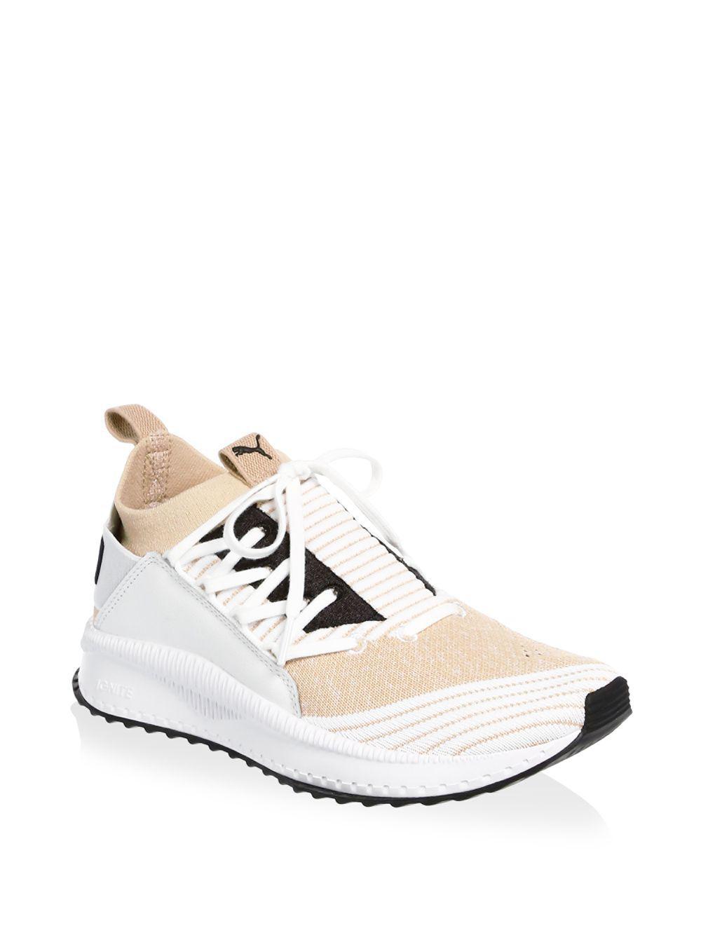 PUMA Tsugi Shinseiknit Fabric Logo Running Sneakers - Save 30% - Lyst bac7a65a5