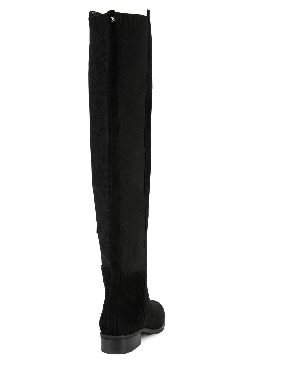 bbff67225 Lyst - Sam Edelman Pam Over-the-knee Boots in Black - Save 14%