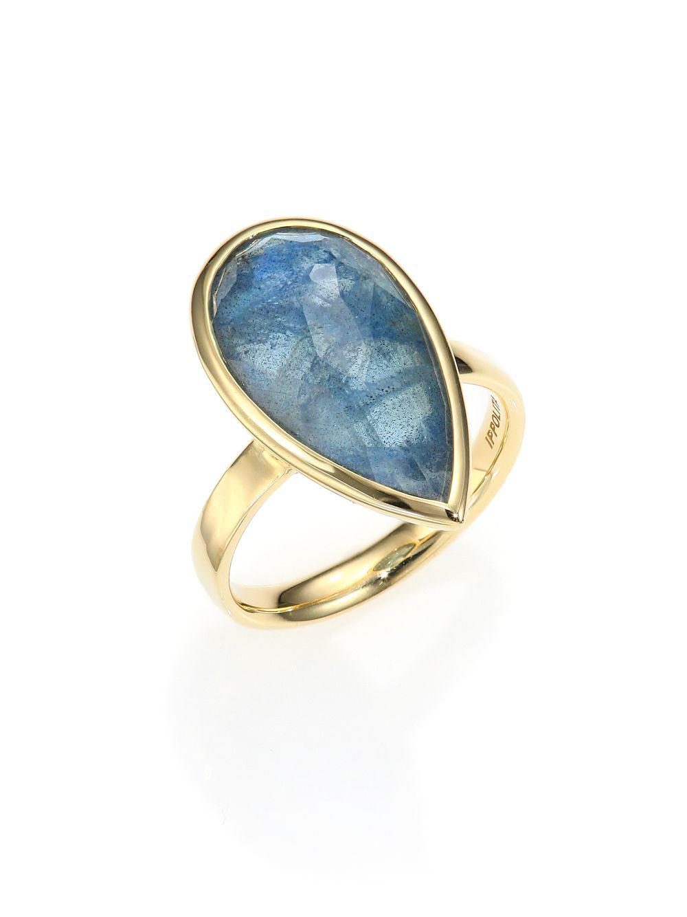 Ippolita 18k Rock Candy Square Six-Stone Ring in MOP Doublet, Size 7