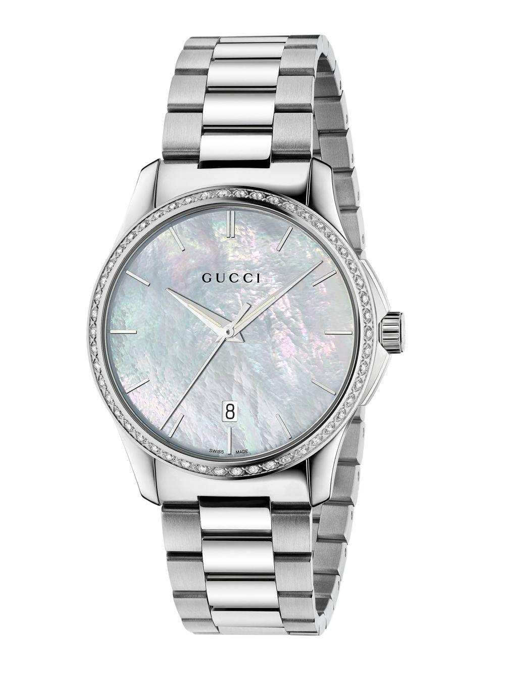 68973a82ee6 Lyst - Gucci G-timeless Diamond
