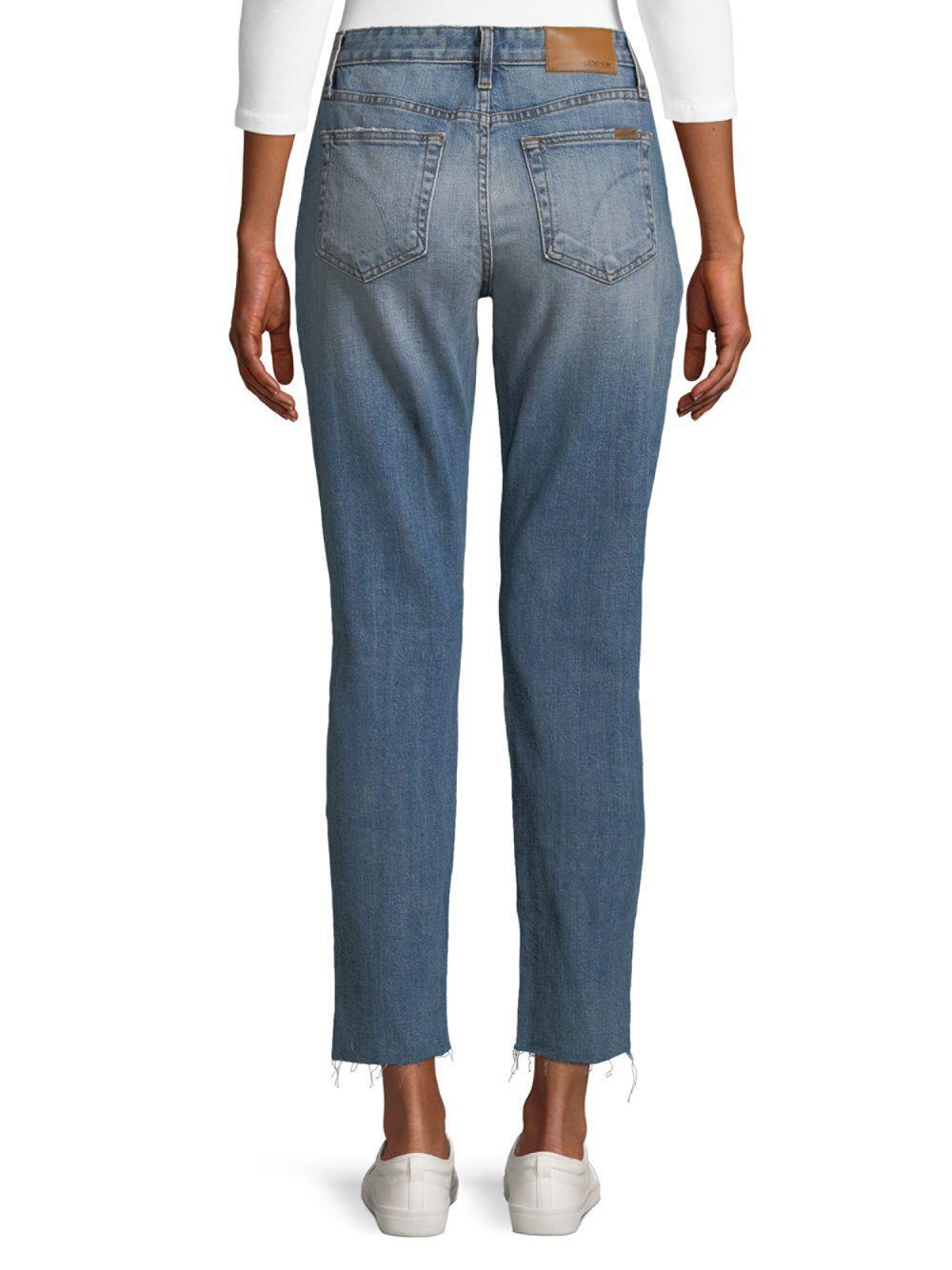 Joe's Jeans Denim High Rise Ankle Jeans in Cooper (Blue)