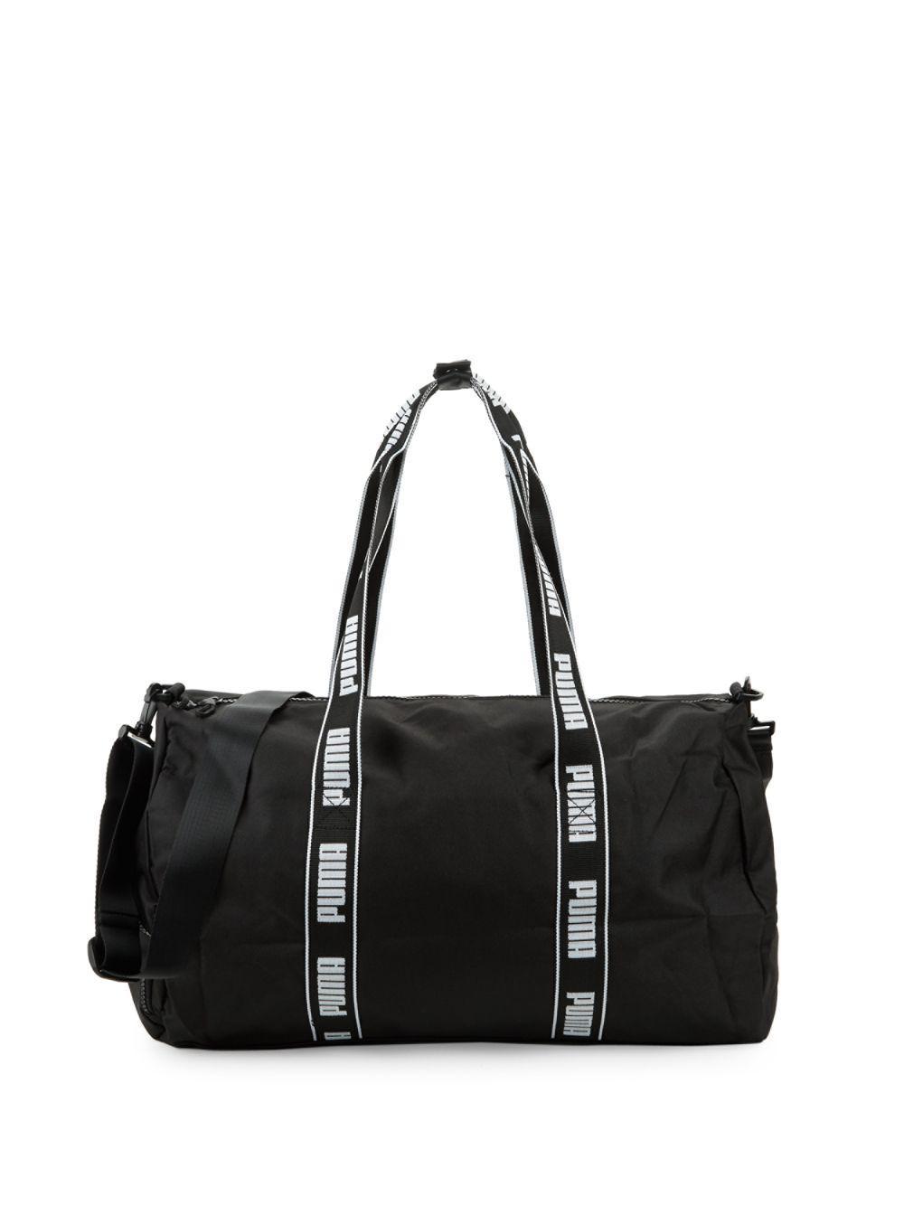421e2b362c Lyst - PUMA Conveyor Duffel Bag in Black - Save 34%