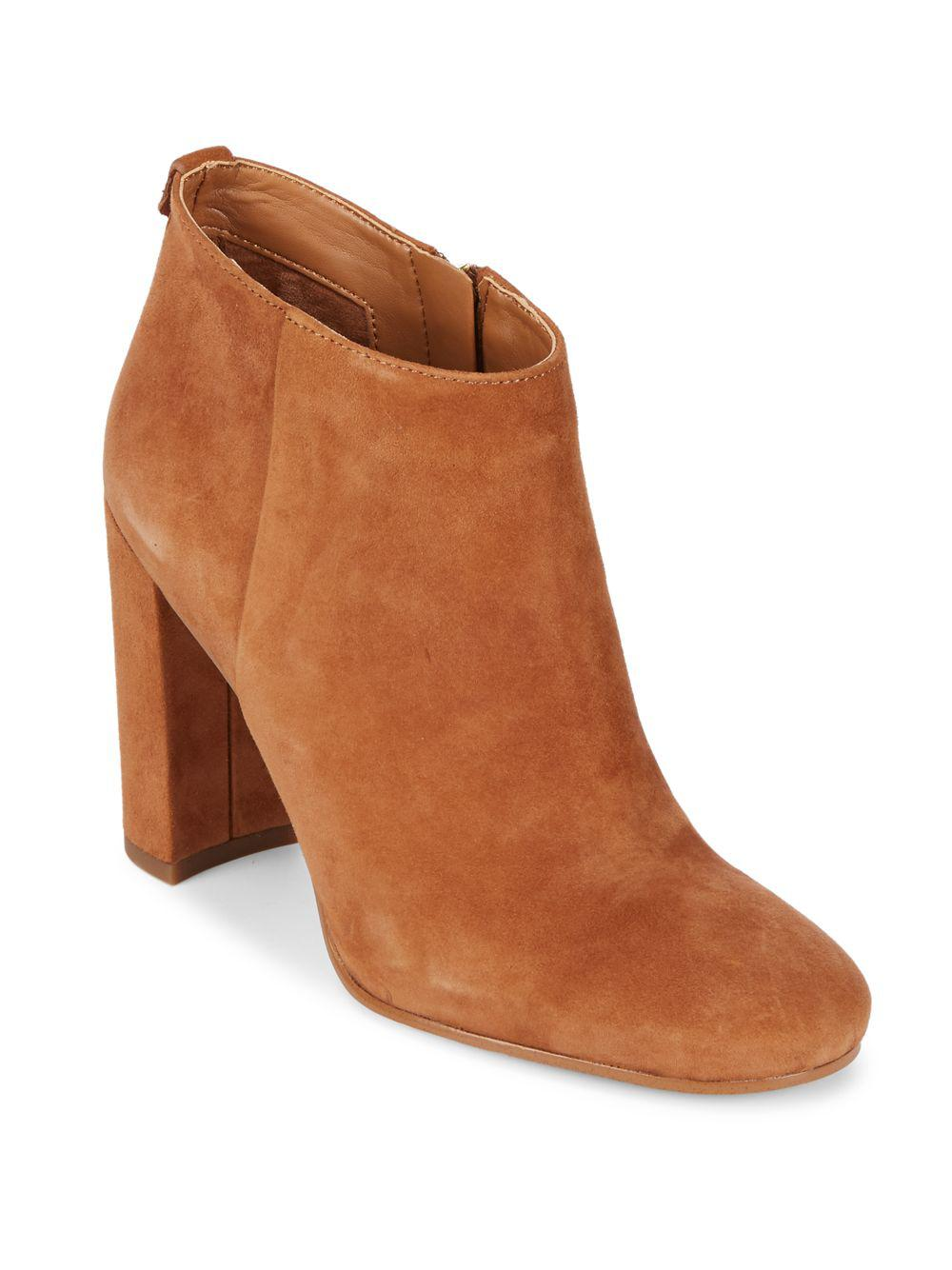 676aae187 Lyst - Sam Edelman Cambell Leather Booties in Brown