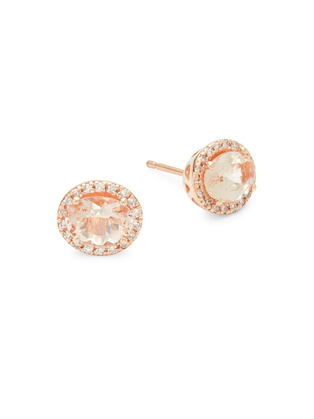 ahalife stud morganite amarilo original earrings product teardrop