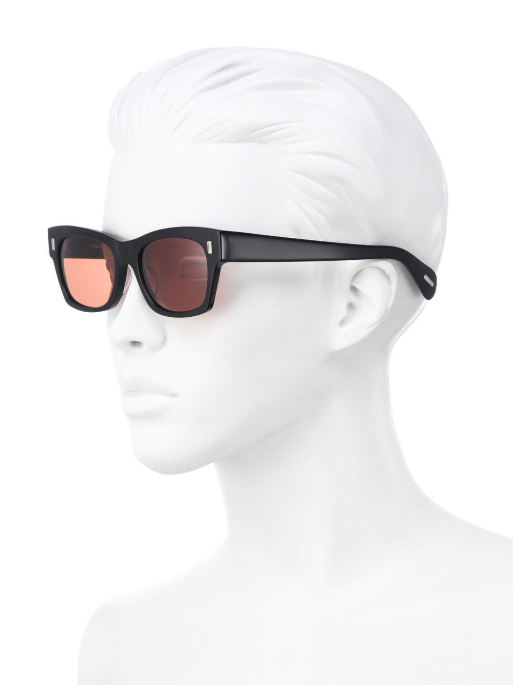 2fb8743af76 Lyst - Oliver Peoples 71st Street 51mm Square Sunglasses in Black ...