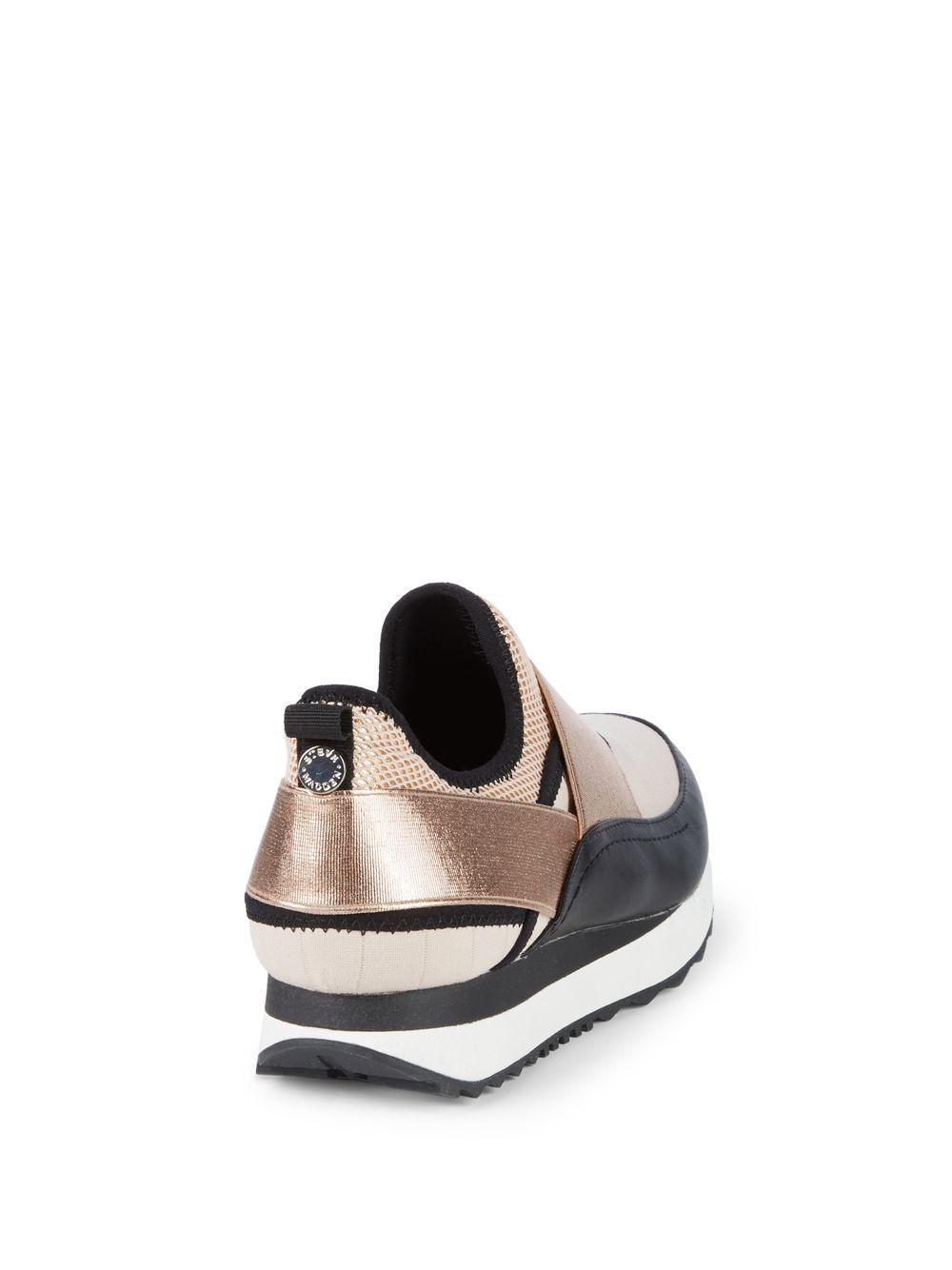 8e717441bbd Steve Madden - Metallic Haro Colorblock Slip-on Sneakers - Lyst. View  fullscreen