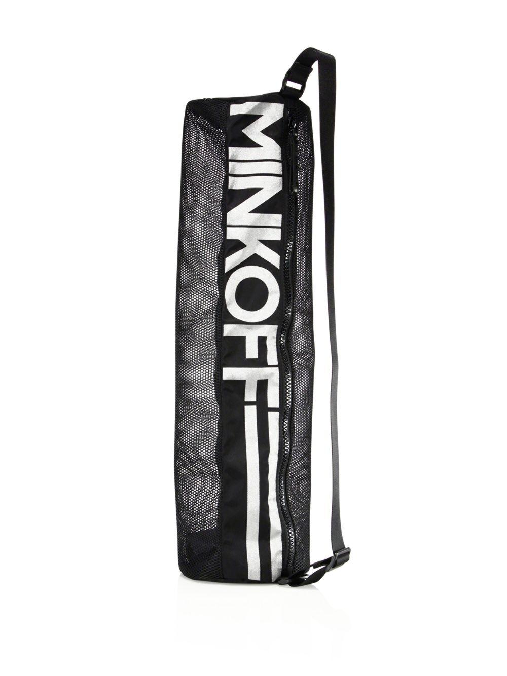 b03c59f38088 Lyst - Rebecca Minkoff Yoga Mat Bag in Black