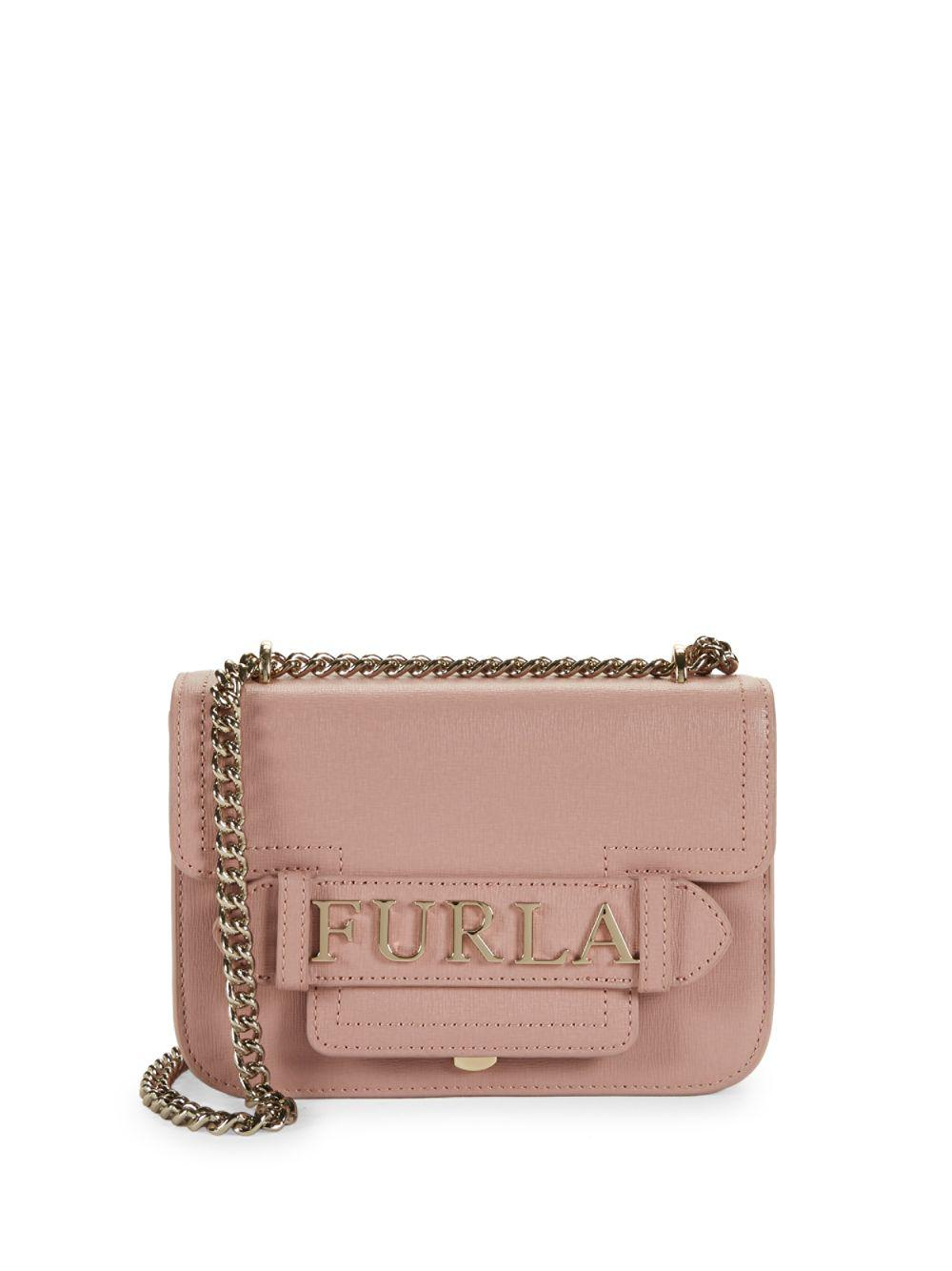 Furla. Women s Mini Carol Leather Chain Crossbody Bag 060c04cc5a1f5