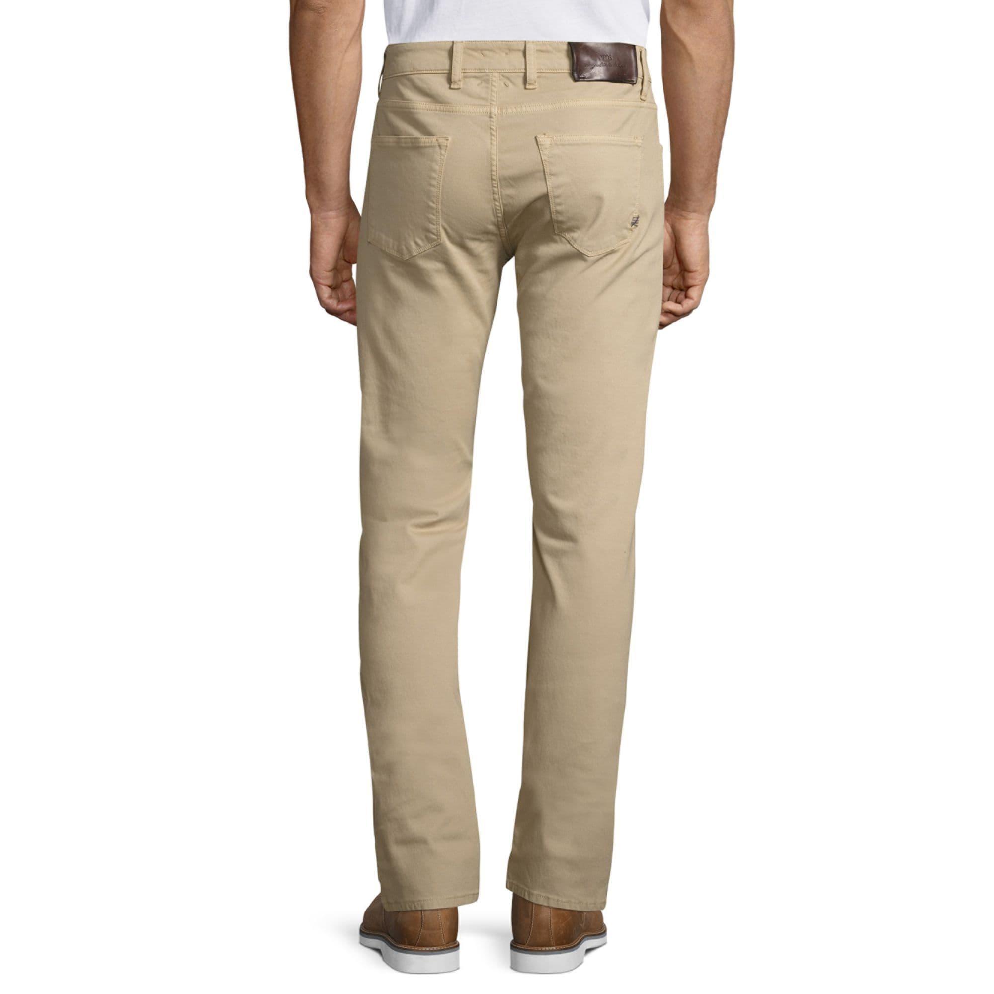 PT01 Denim Lux Slim Stretch Pt05 Tricotine Jeans in Olive (Green) for Men
