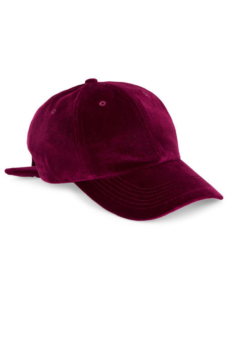 b6fedc6fb39 San Diego Hat Company. Women s Velvet Bow Back Baseball Cap