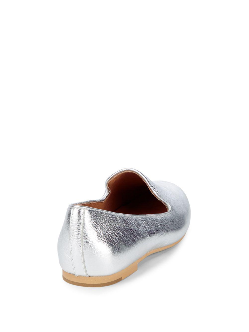 Eugene Metallic Leather Slip-on Loafer Gentle Souls 5Py1A