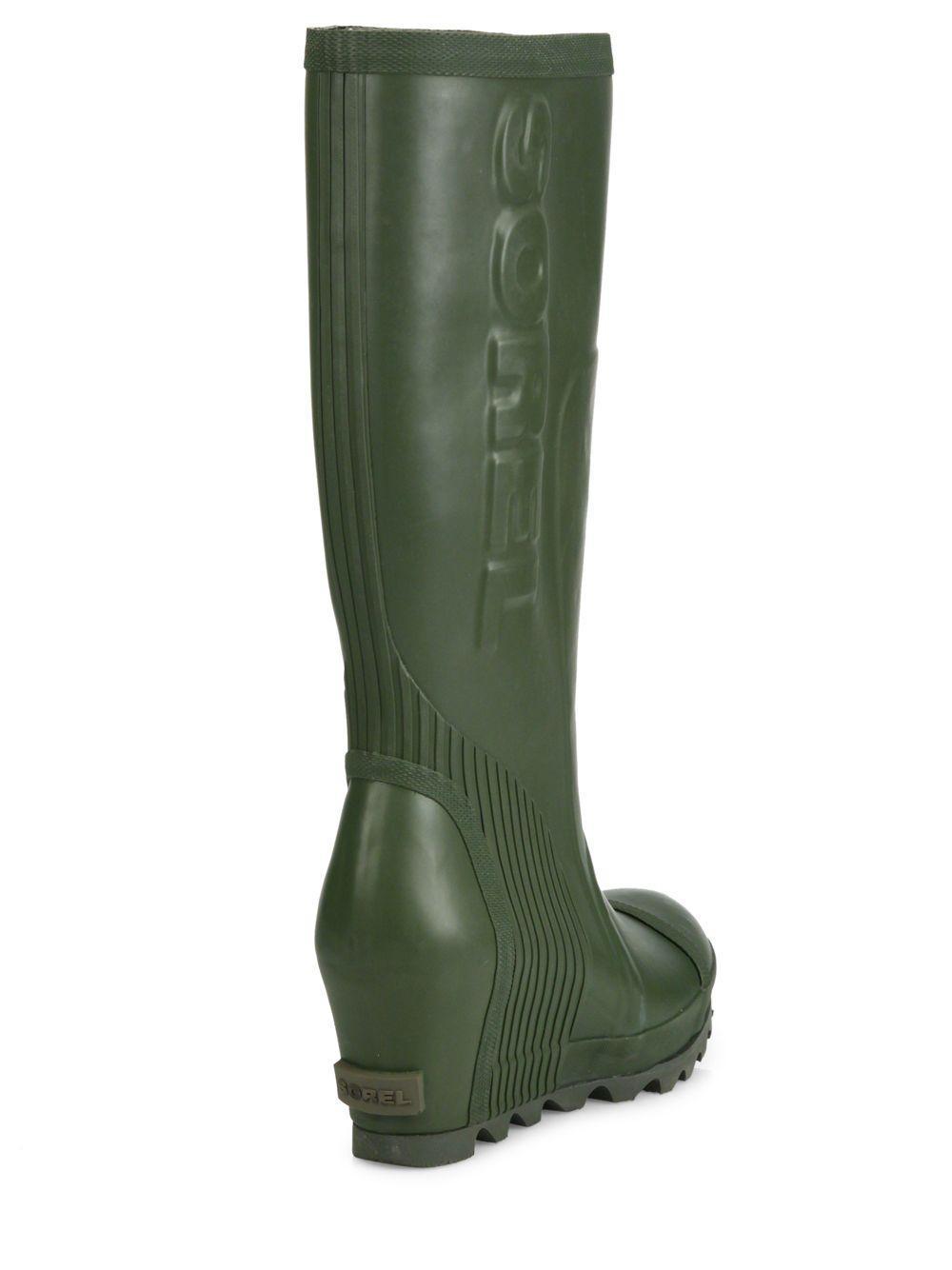 3eb9352e731 Sorel Wedge Rain Boots - Image Collections Boot
