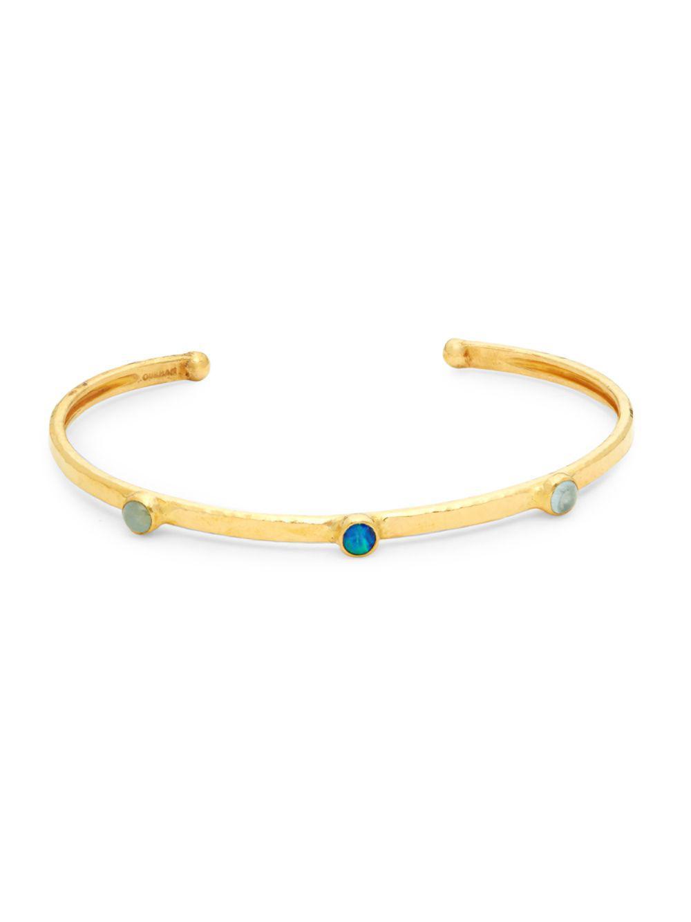 Gurhan Amulet 24k Vermeil Cuff Bracelet FuKLkT2Ch