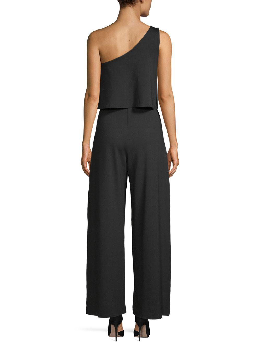 cb88e753f80e Susana Monaco Ilana Overlay Jumpsuit in Black - Save ...