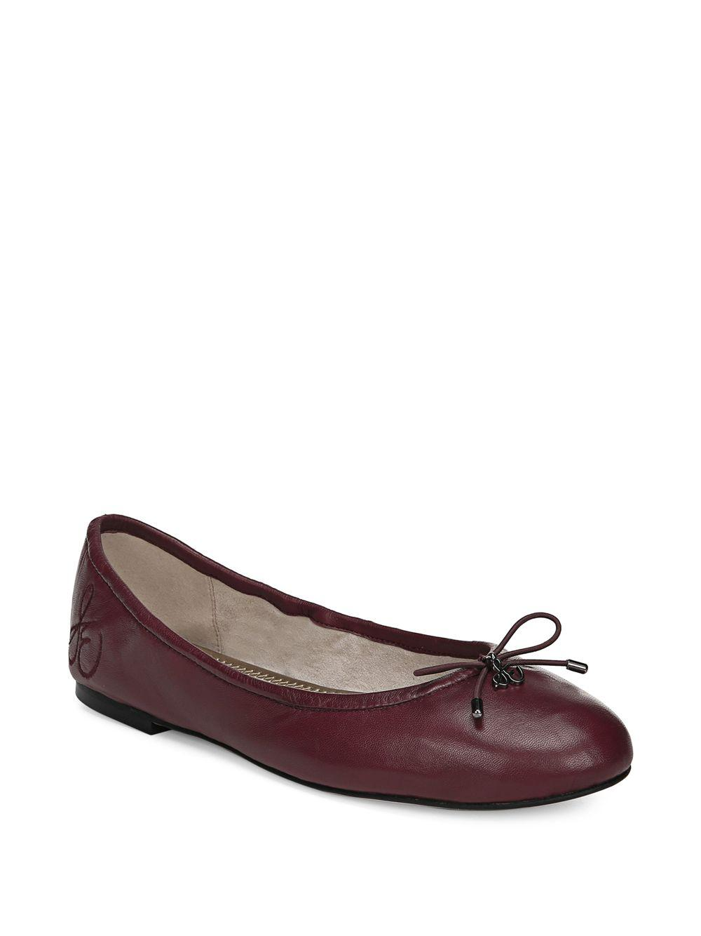 a3bc008b4d45e Sam Edelman. Women s Red Felicia Leather Ballet Flats.  100  55 From Saks  OFF 5TH