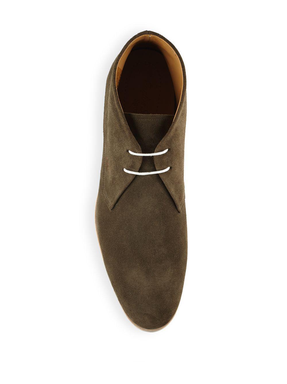 Carlos Santos Suede Chukka Boots For Men Lyst