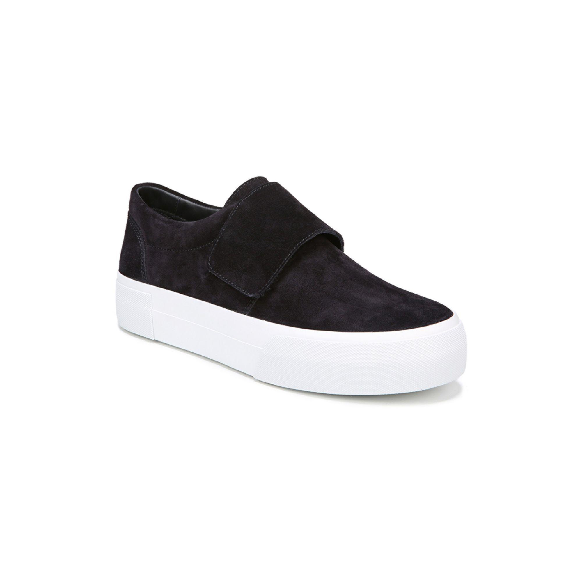 Vince Cage Suede Sneakers in Cloud (White) - Save 42%