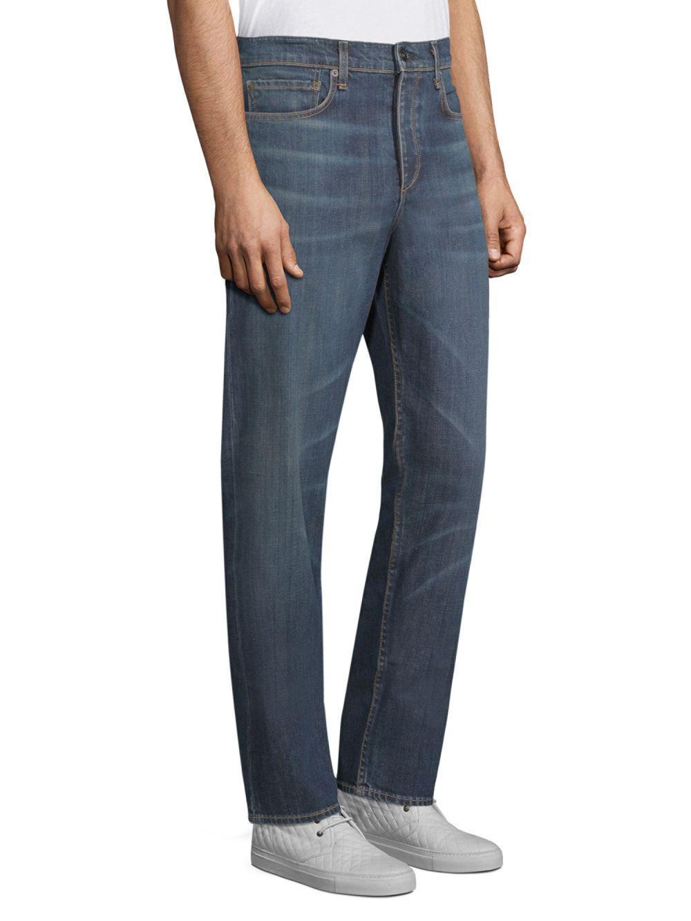 Rag & Bone Denim Fit 3 Slim-fit Classic Jeans in Blue for Men