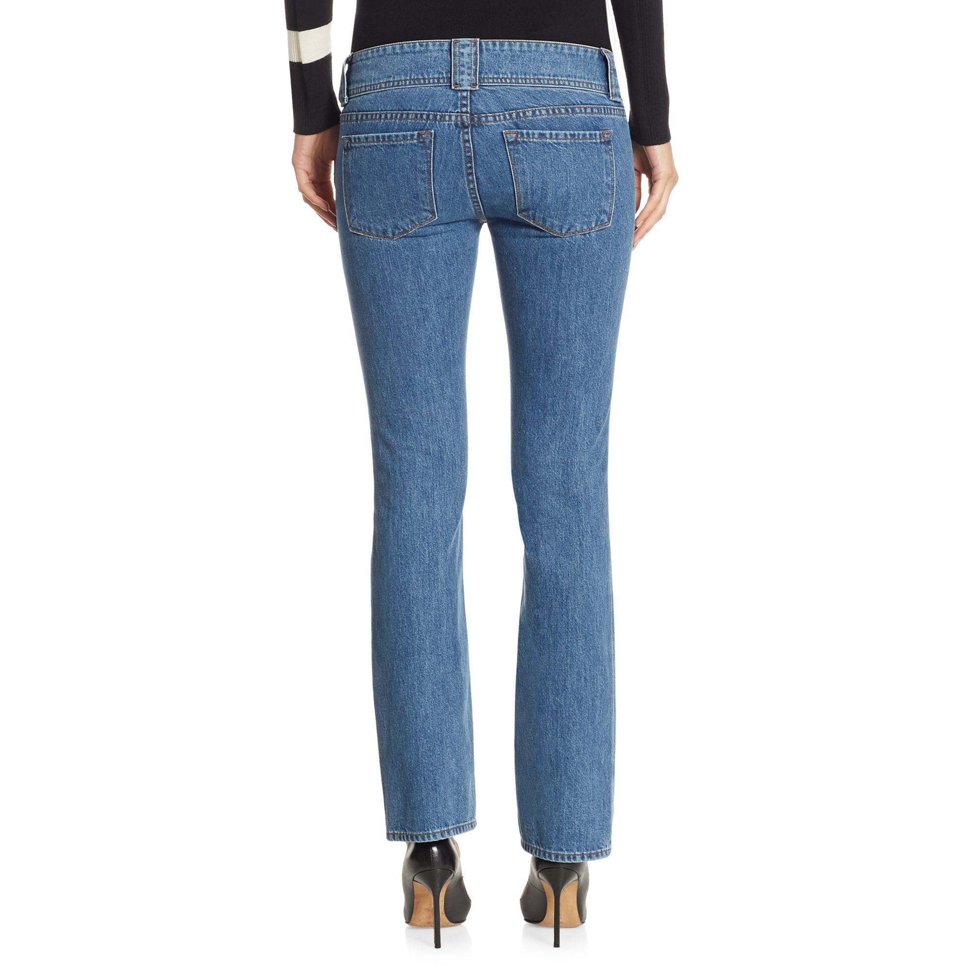 J Brand Denim Straight-leg Jeans in Light Blue (Blue)