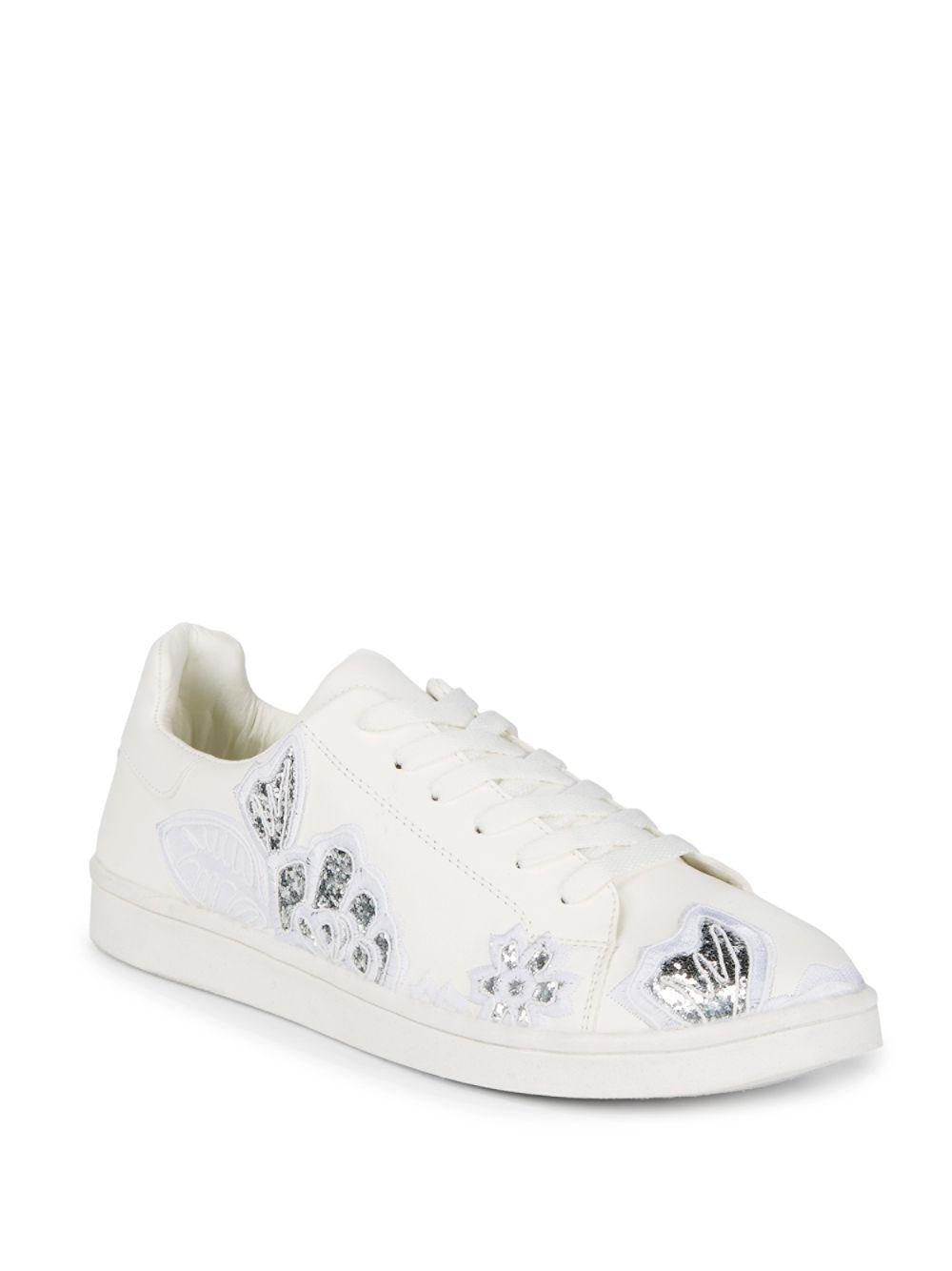 970366b1d07 Lyst - Steve Madden Esiah Sneaker in White