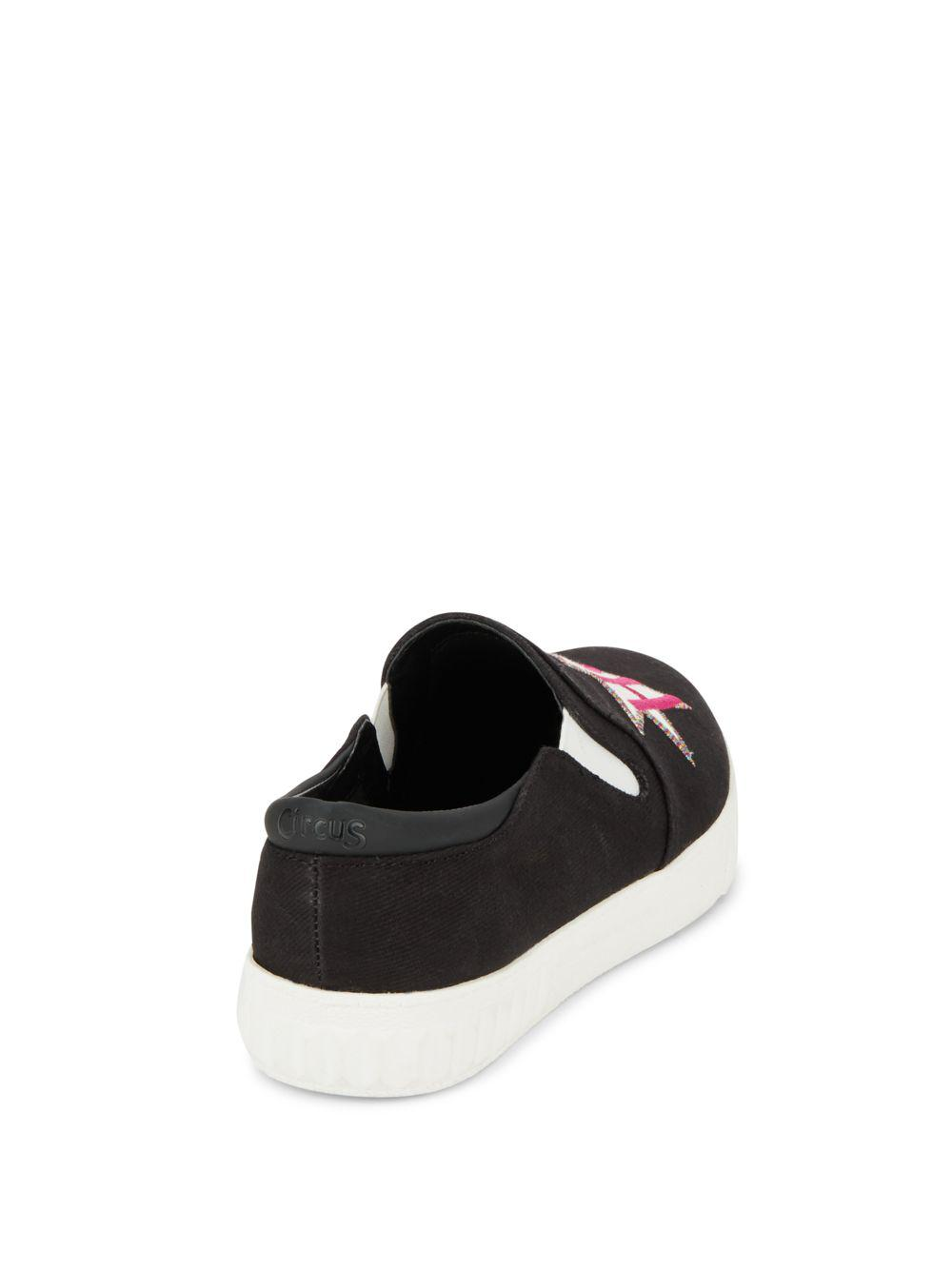 6a06716806c0 Lyst - Circus by Sam Edelman Charlie Hot Mess Slip-on Sneakers in Pink
