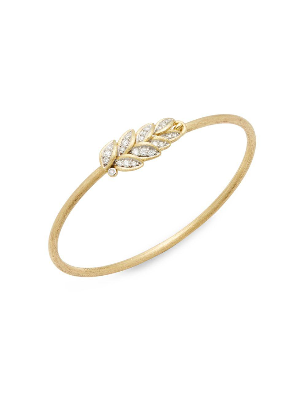 Jude Frances Lisse Moonstone & Diamond Band Ring in 18k Yellow Gold OZemCA8h