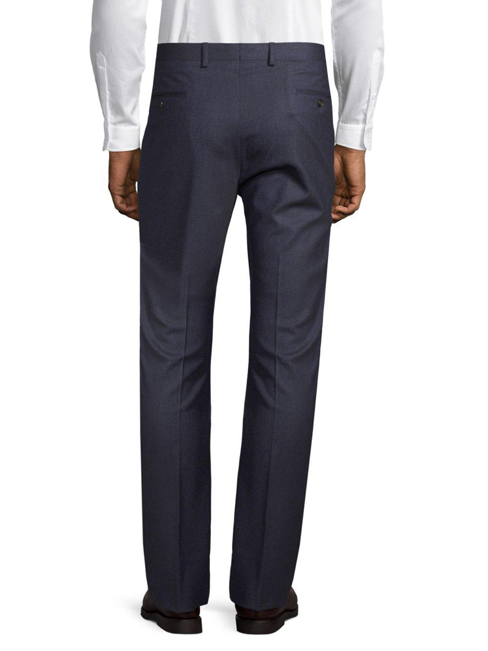 Todd Synder X Champion Stretch Wool Trousers in Dark Blue (Blue) for Men